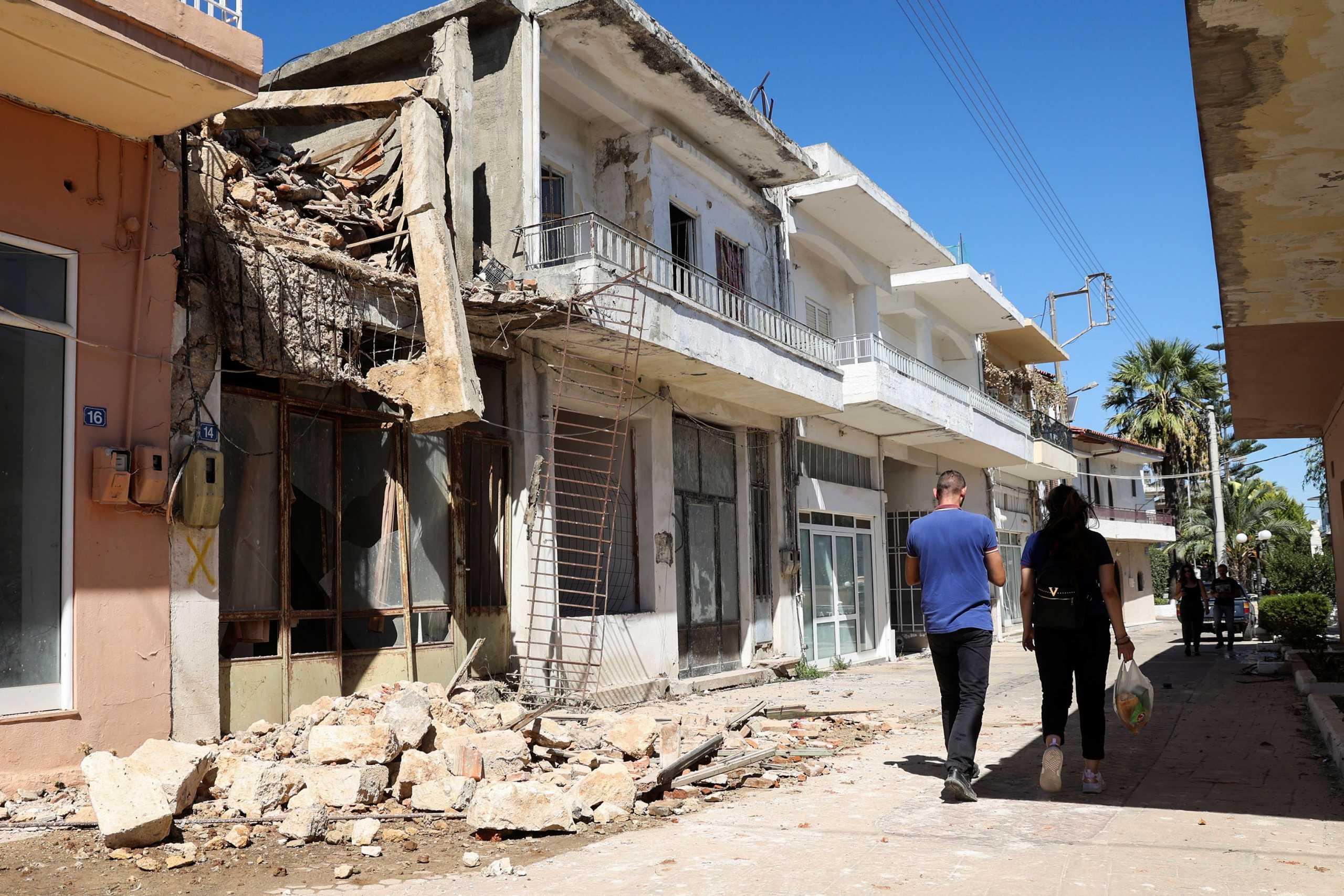 Σεισμός στην Κρήτη: Πάνω από 4.000 τα ακατάλληλα κτίρια και οι έλεγχοι συνεχίζονται