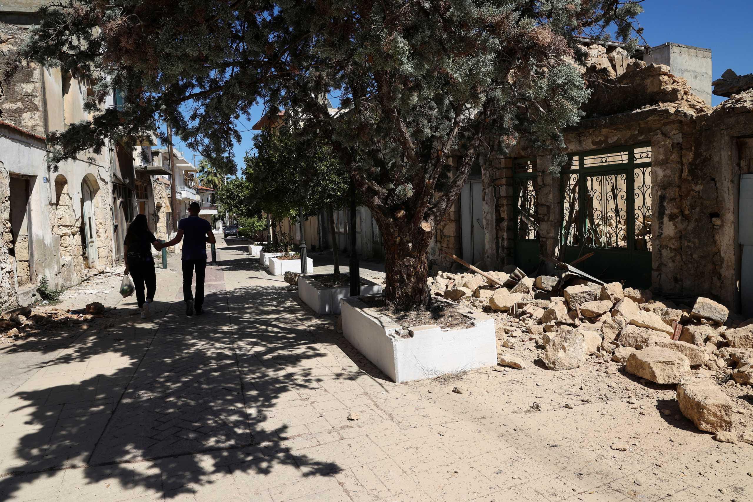 Σεισμός στην Κρήτη: Νέος ισχυρός μετασεισμός 5,3 Ρίχτερ