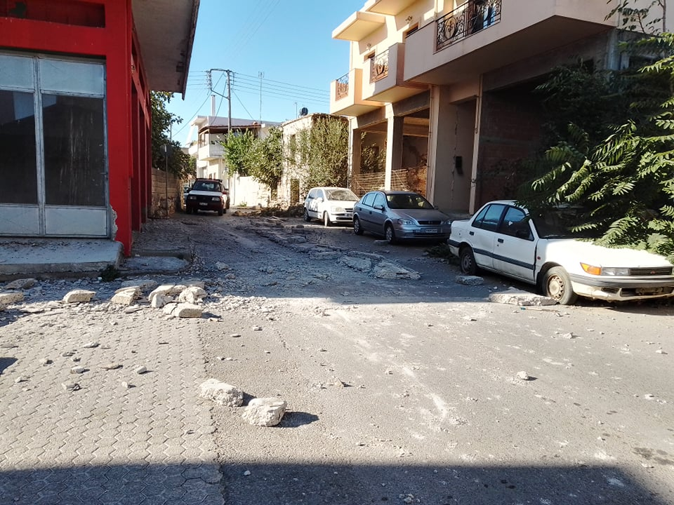 Σεισμός 5,8 ρίχτερ στην Κρήτη – Οι πρώτες εικόνες
