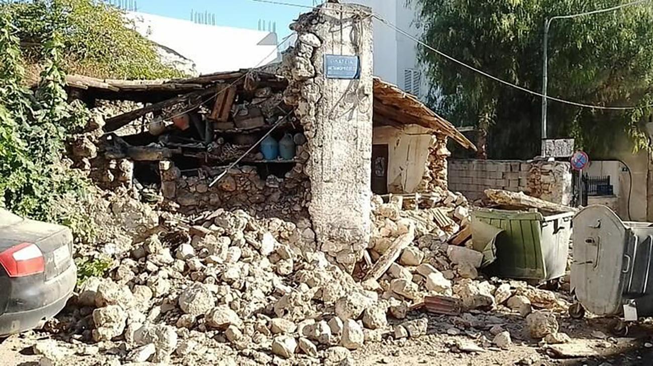 Σεισμός στην Κρήτη – Ευθύμιος Λέκκας: Παράλογο, ήταν μεγαλύτερος απ' ό,τι περιμέναμε