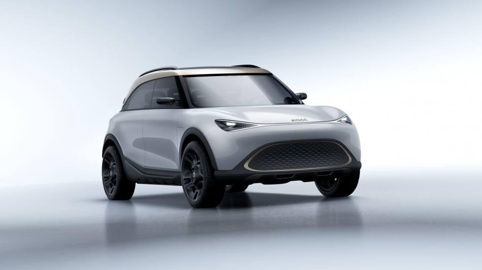 Smart: Αλλαγή σελίδας με το πρώτο ηλεκτρικό SUV