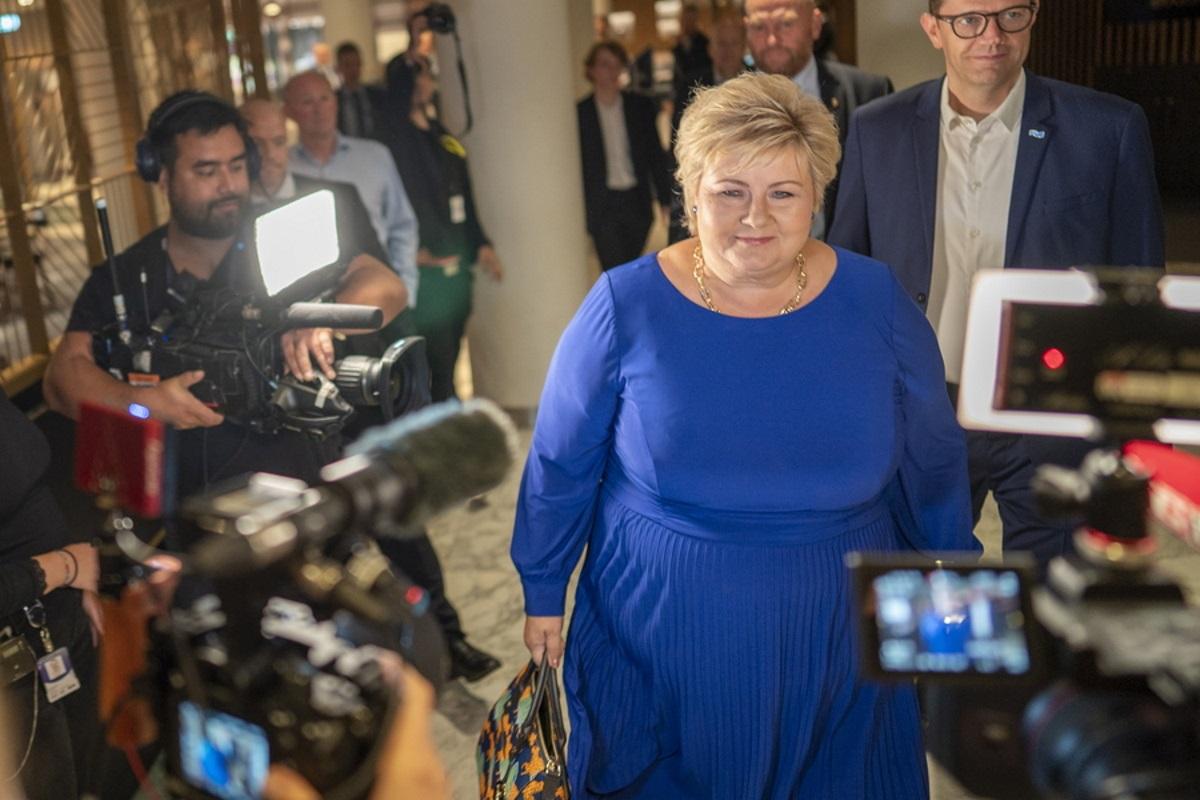 Νορβηγία: Η Έρνα Σόλμπεργκ έχασε την εξουσία – «Το έργο των συντηρητικών τελείωσε»