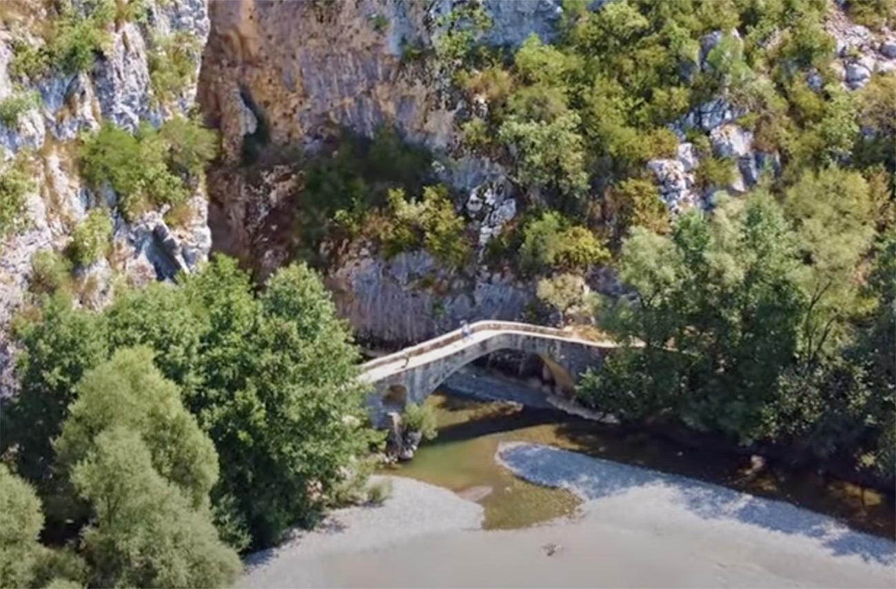 Οι «συμπληγάδες» των Γρεβενών και το γεφύρι που μετρά 3 αιώνες
