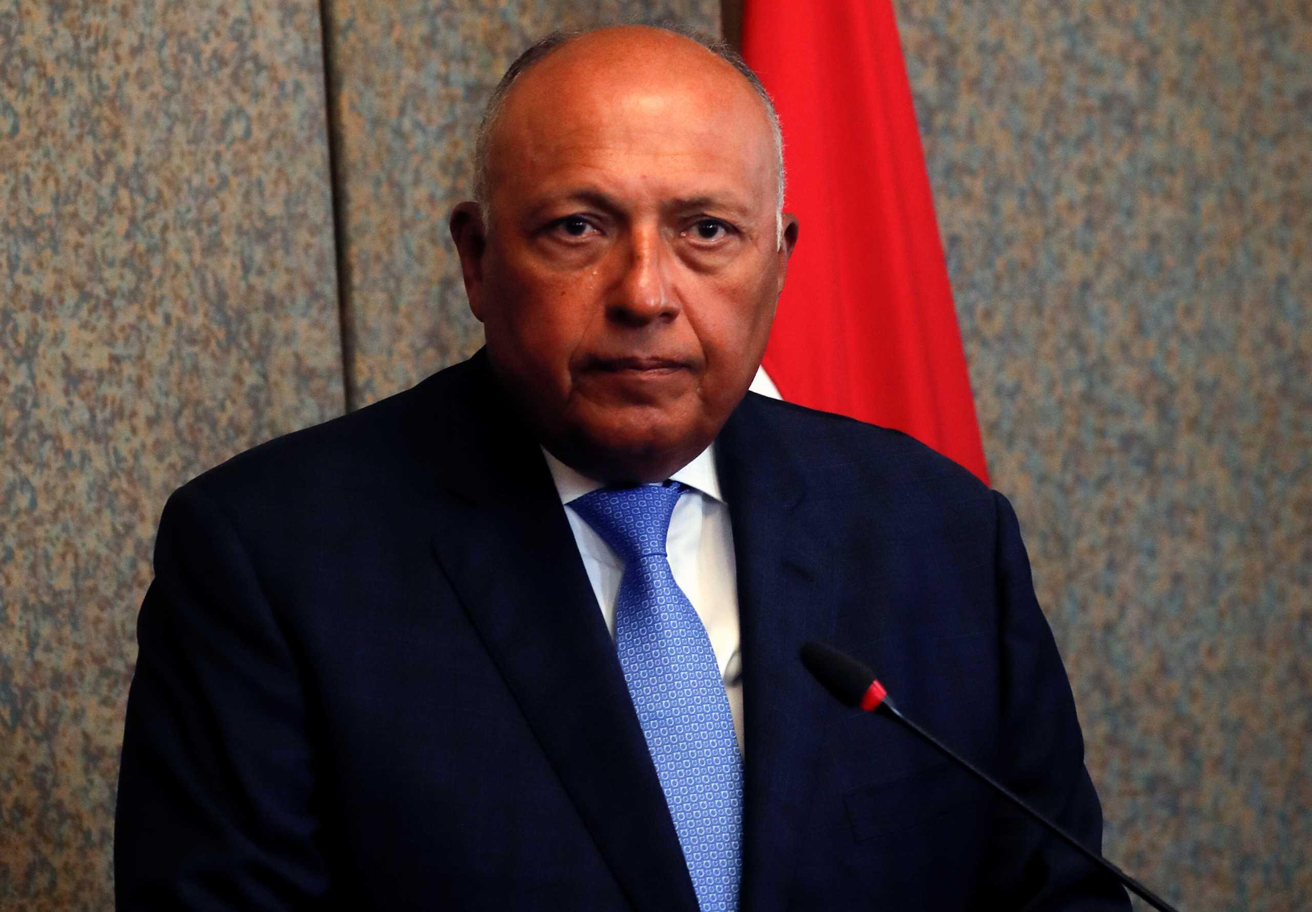 Σούκρι: Τα «ρίχνει» στην Τουρκία για την βελτίωση των σχέσεων με την Αίγυπτο