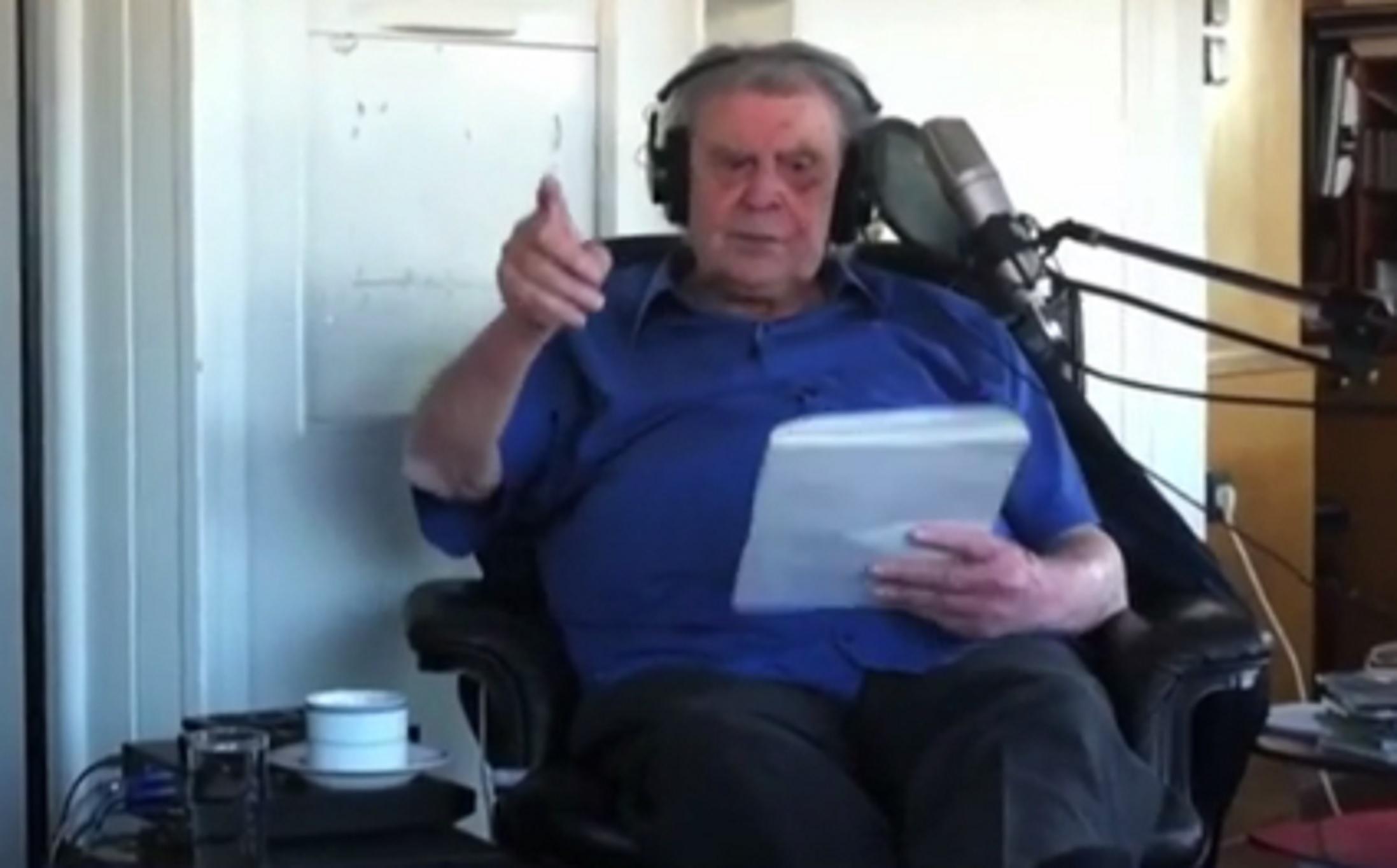 Μίκης Θεοδωράκης: Η συγκλονιστική τελευταία ηχογράφηση