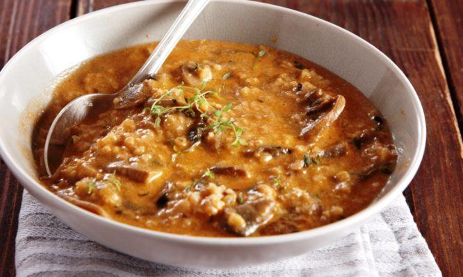 Μοναστηριακό τραχανότο με μανιτάρια – Η συνταγή που θα …φας κόλλημα