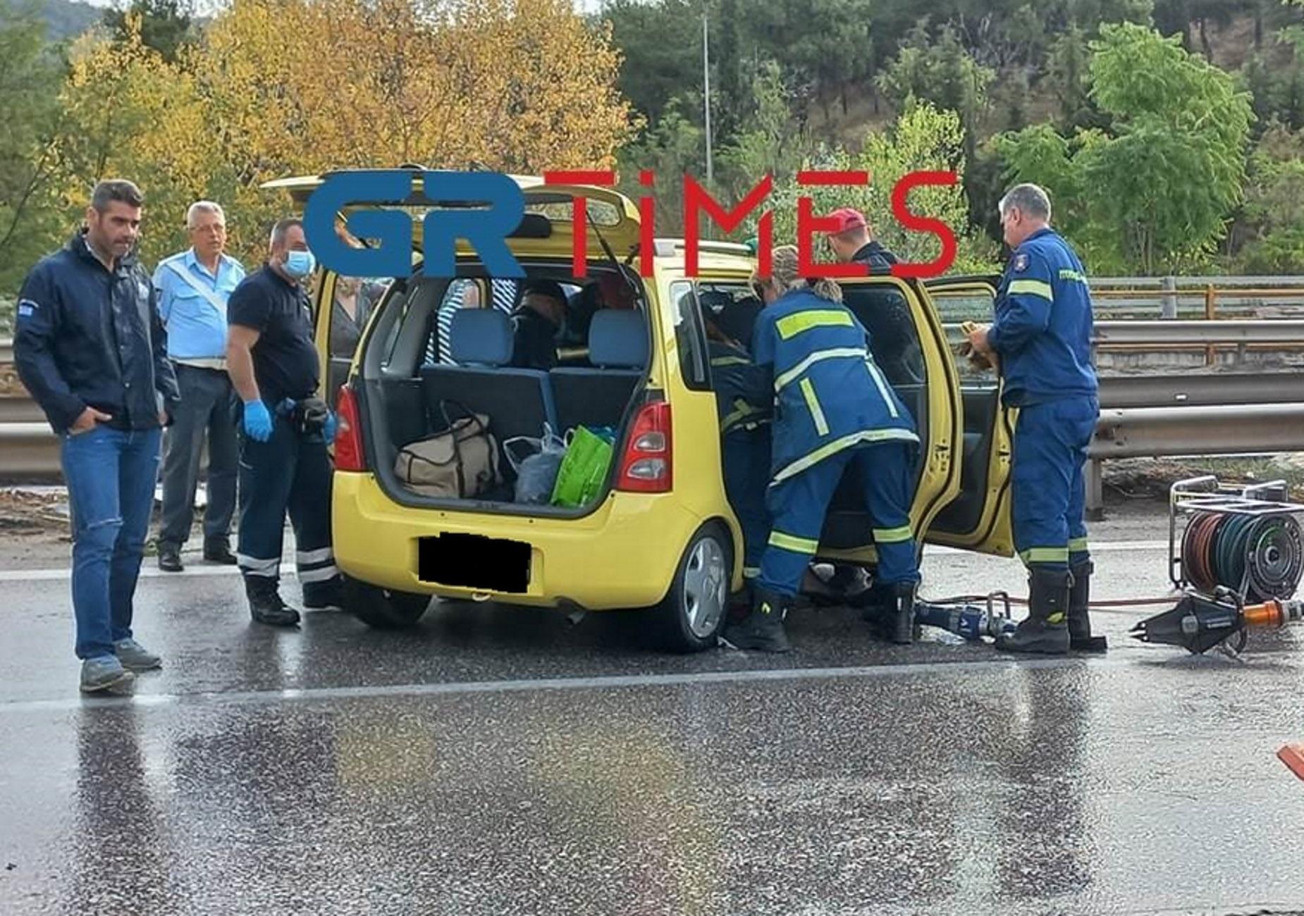 Θεσσαλονίκη: Η κακοκαιρία έφερε 7 τροχαία με 4 τραυματίες και εμπλοκή 10 αυτοκινήτων – Δείτε το βίντεο