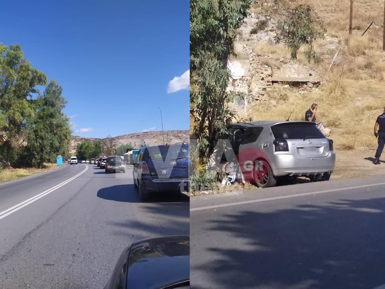 Χαλκίδα: Σοβαρό τροχαίο ατύχημα με εγκλωβισμό οδηγού