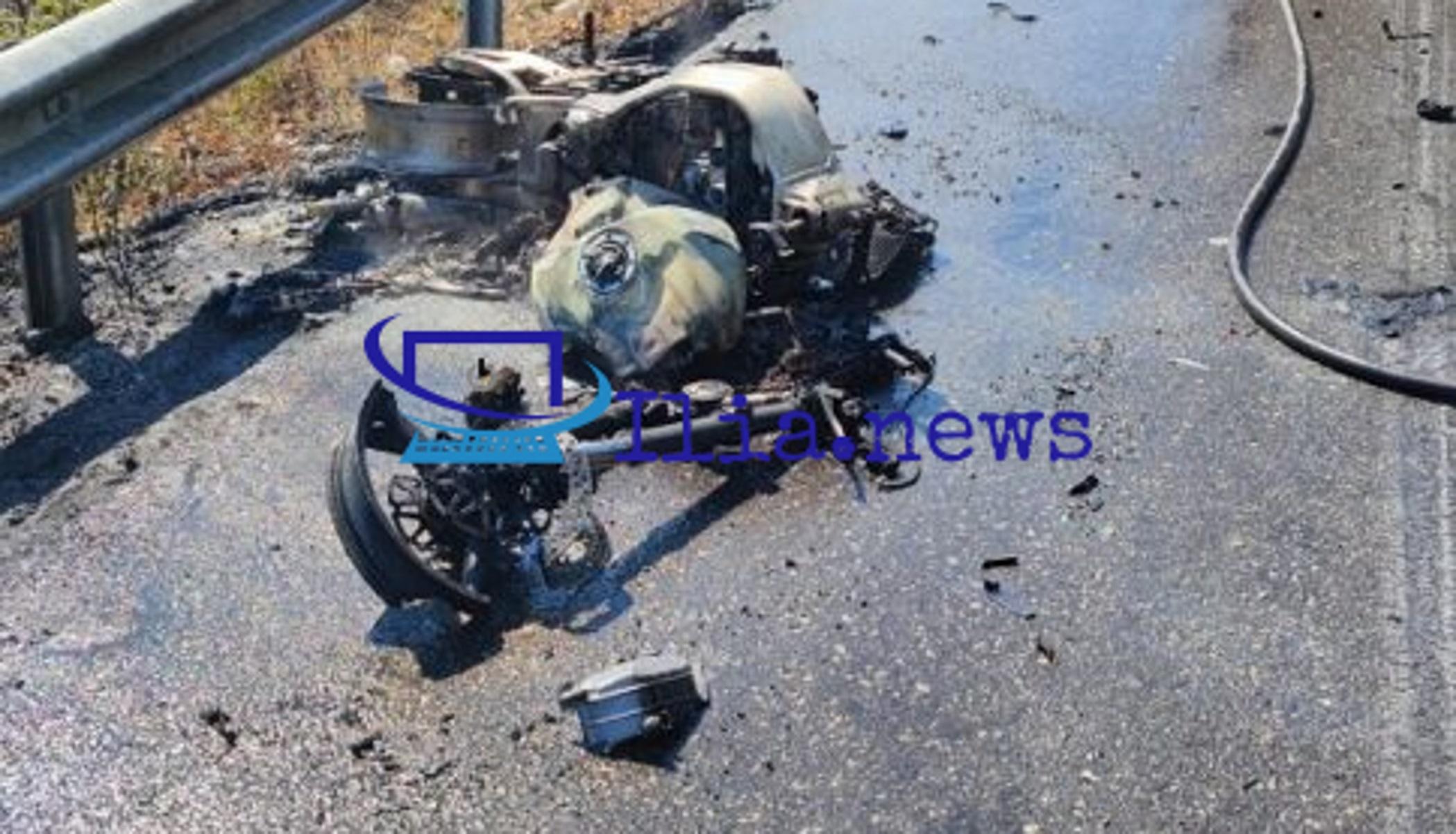 Ηλεία: Νεκρός μοτοσικλετιστής στη Γαστούνη – Τον παρέσυρε αγροτικό που βγήκε απ' τα χωράφια
