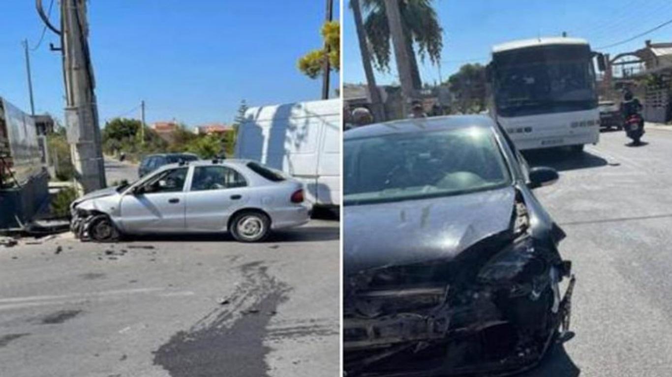 Λούτσα: Τροχαίο ατύχημα σε κεντρική διασταύρωση – Πληροφορίες για τραυματίες παιδιά