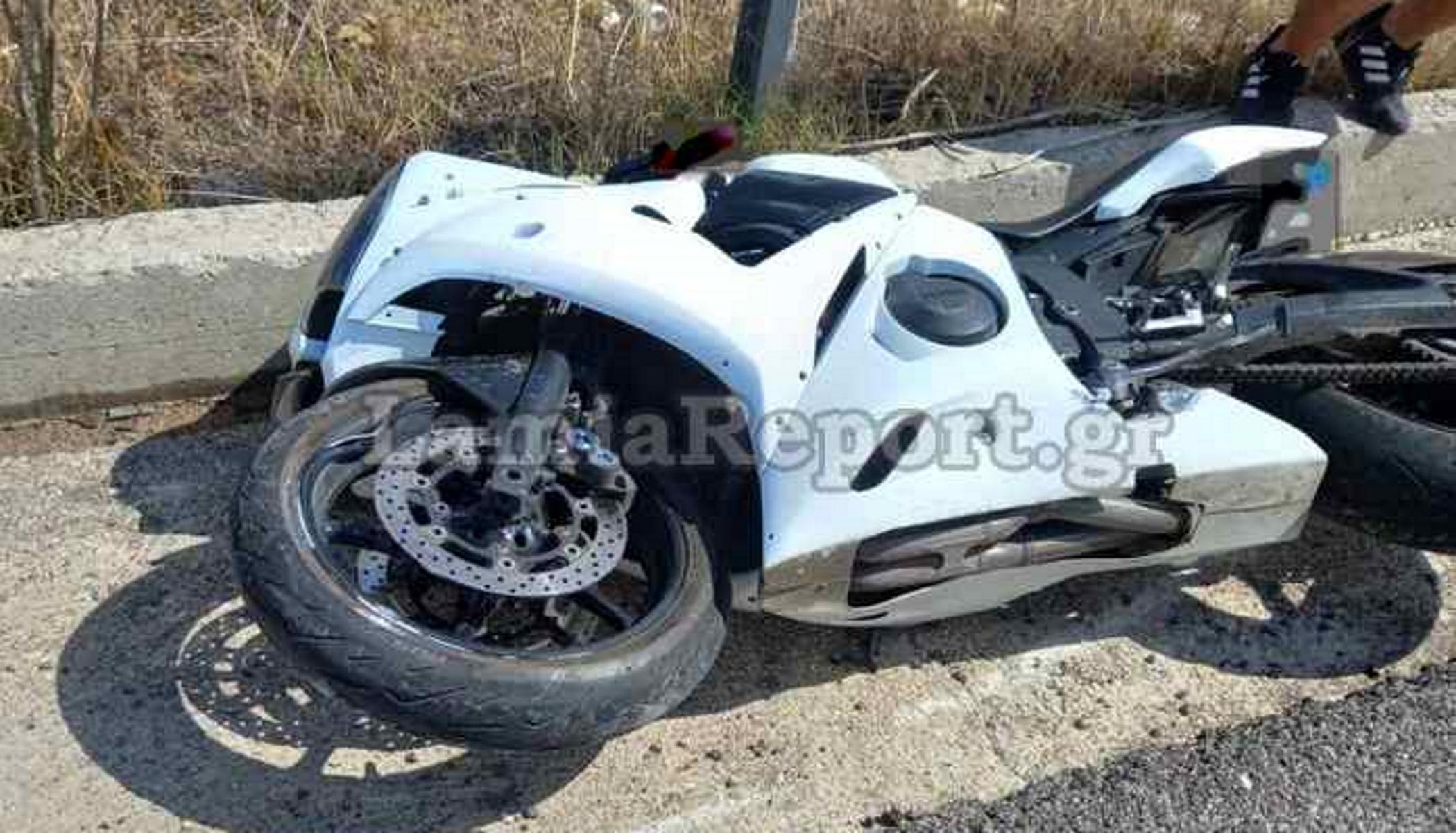 Δομοκός: Τραυματίστηκε σοβαρά νεαρός μοτοσικλετιστής – Σύρθηκε για πολλά μέτρα στην άσφαλτο