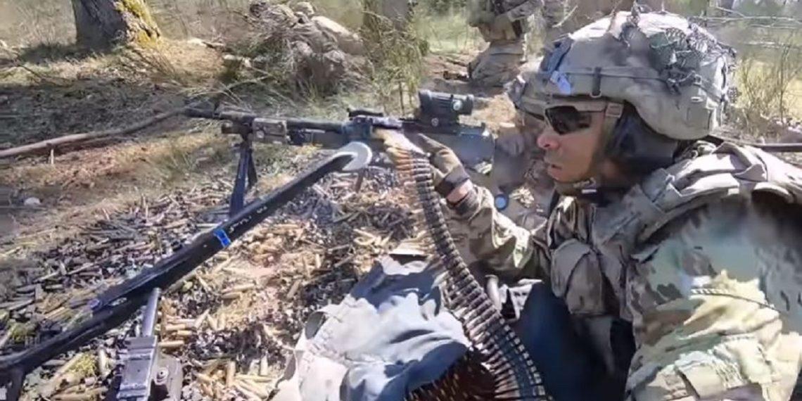 Άσκηση με πυρά «μέσα από τα μάτια» στρατιωτών των ΗΠΑ