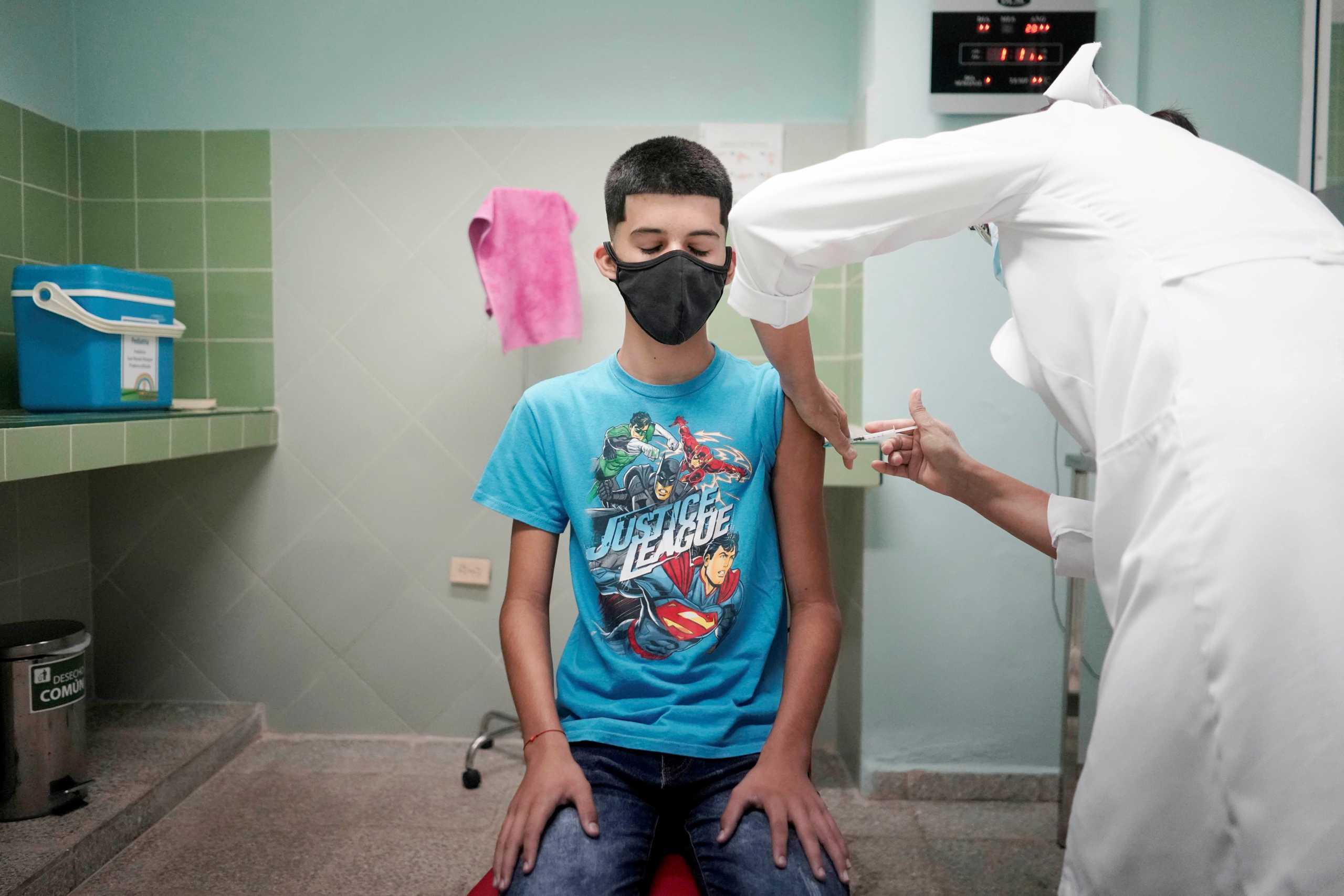 Κορονοϊός – εμβολιασμός παιδιών: Αυξημένα τα κρούσματα σε άτομα κάτω των 17 ετών