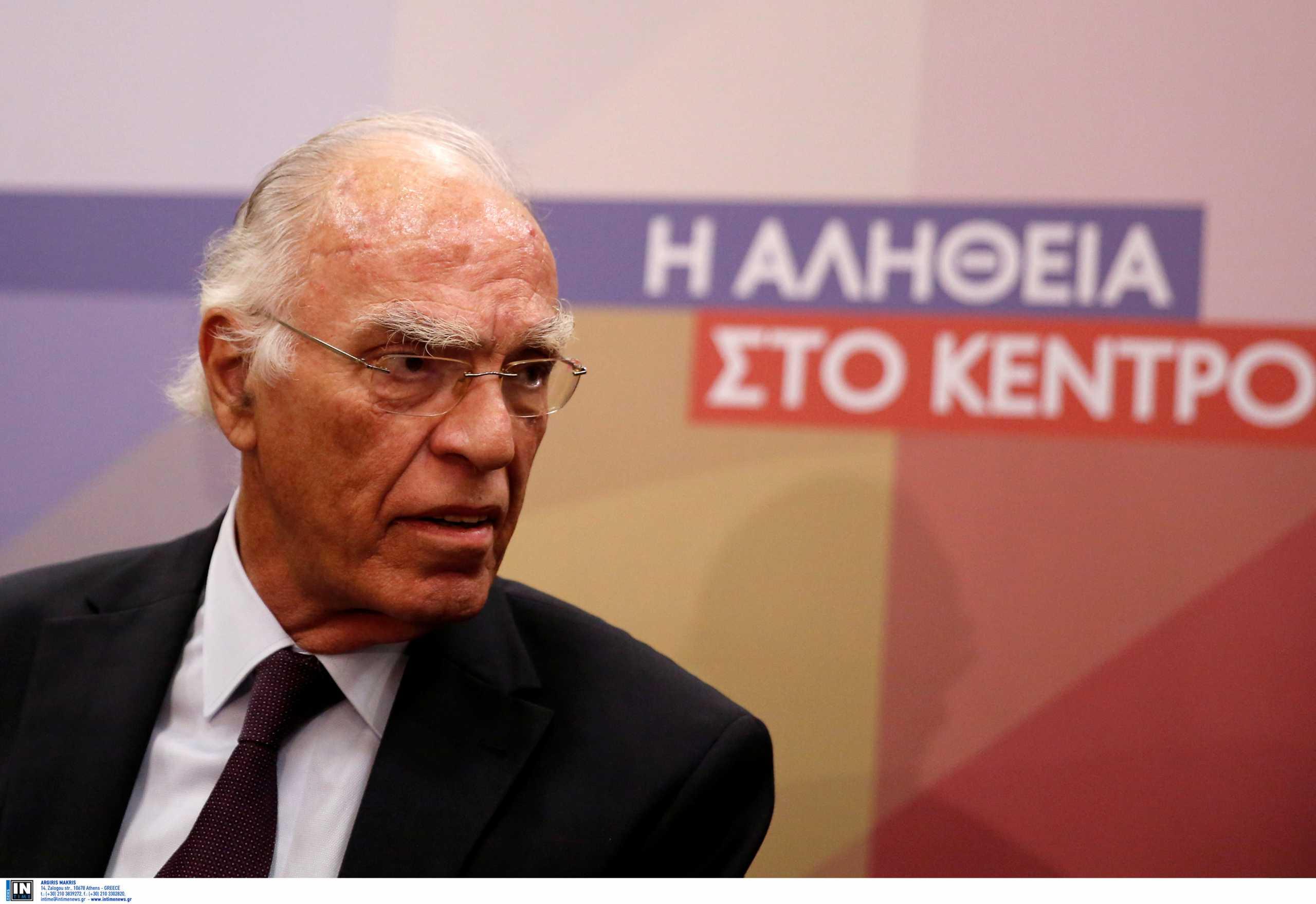 Βασίλης Λεβέντης: Διασωληνώθηκε ξανά ο Πρόεδρος της Ένωσης Κεντρώων