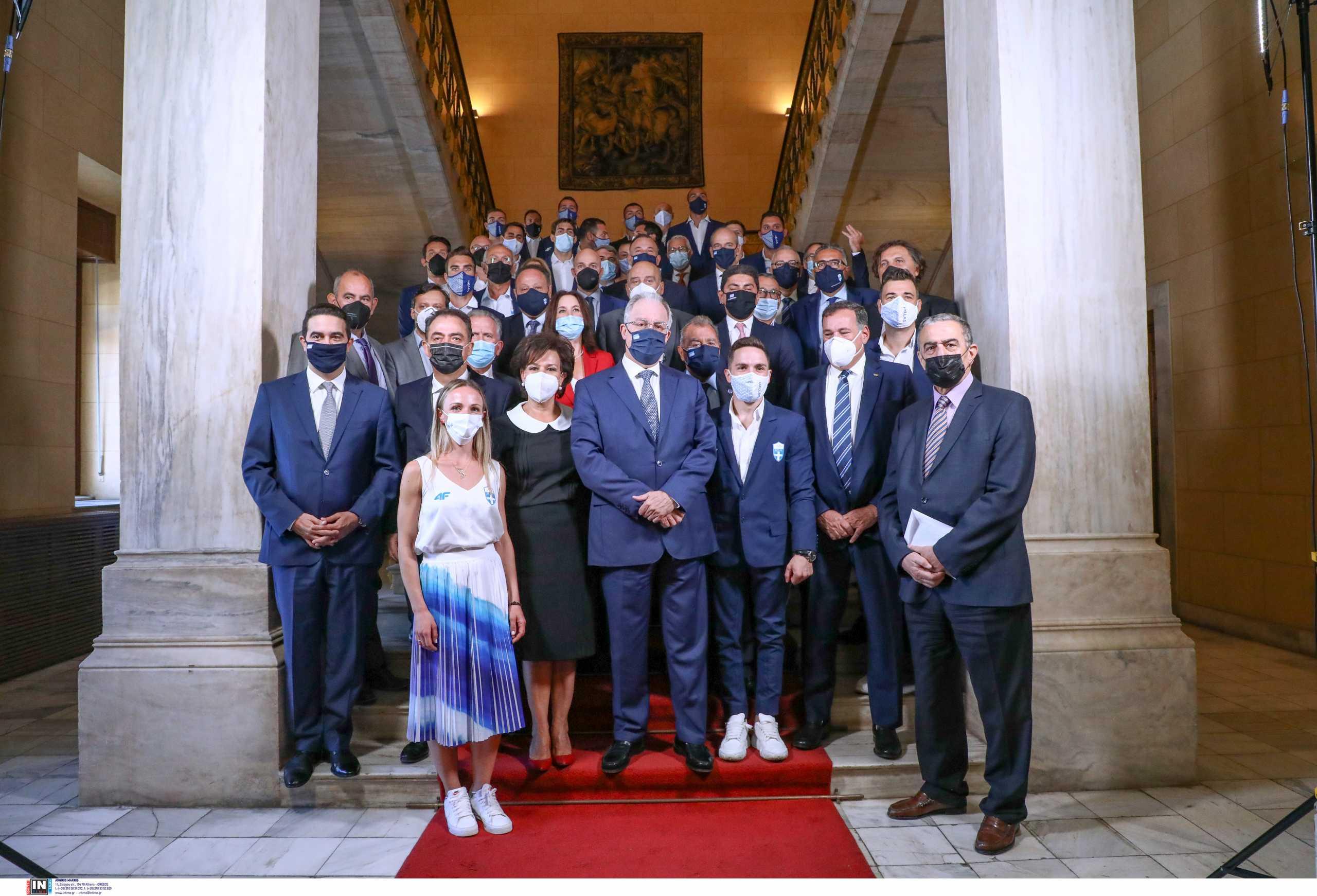 To «εύγε» και ο έπαινος της Βουλής των Ελλήνων στους Έλληνες Ολυμπιονίκες