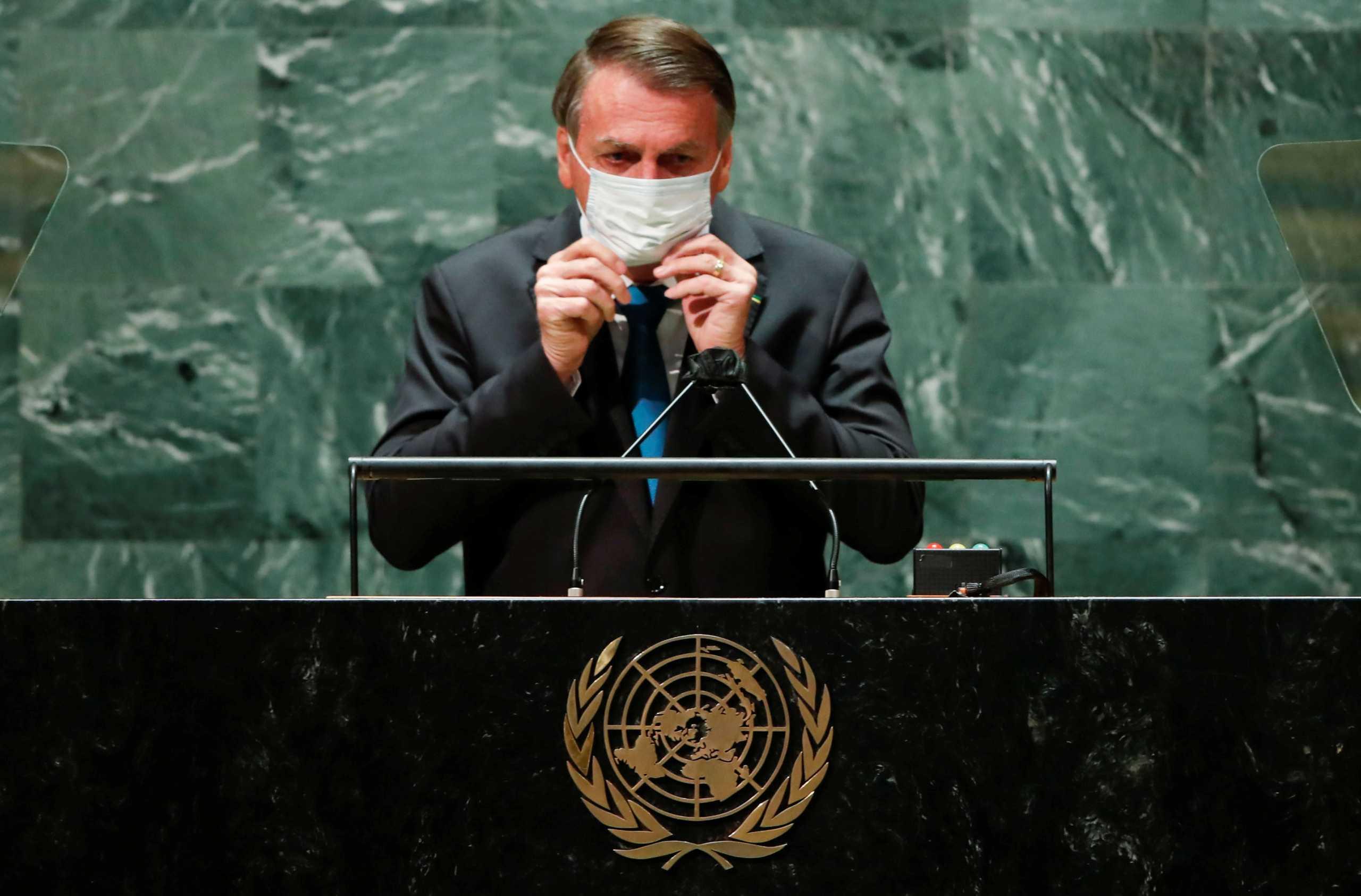 Βραζιλία: Και τέταρτο μέλος της αντιπροσωπείας στον ΟΗΕ διαγνώστηκε με κορονοϊό