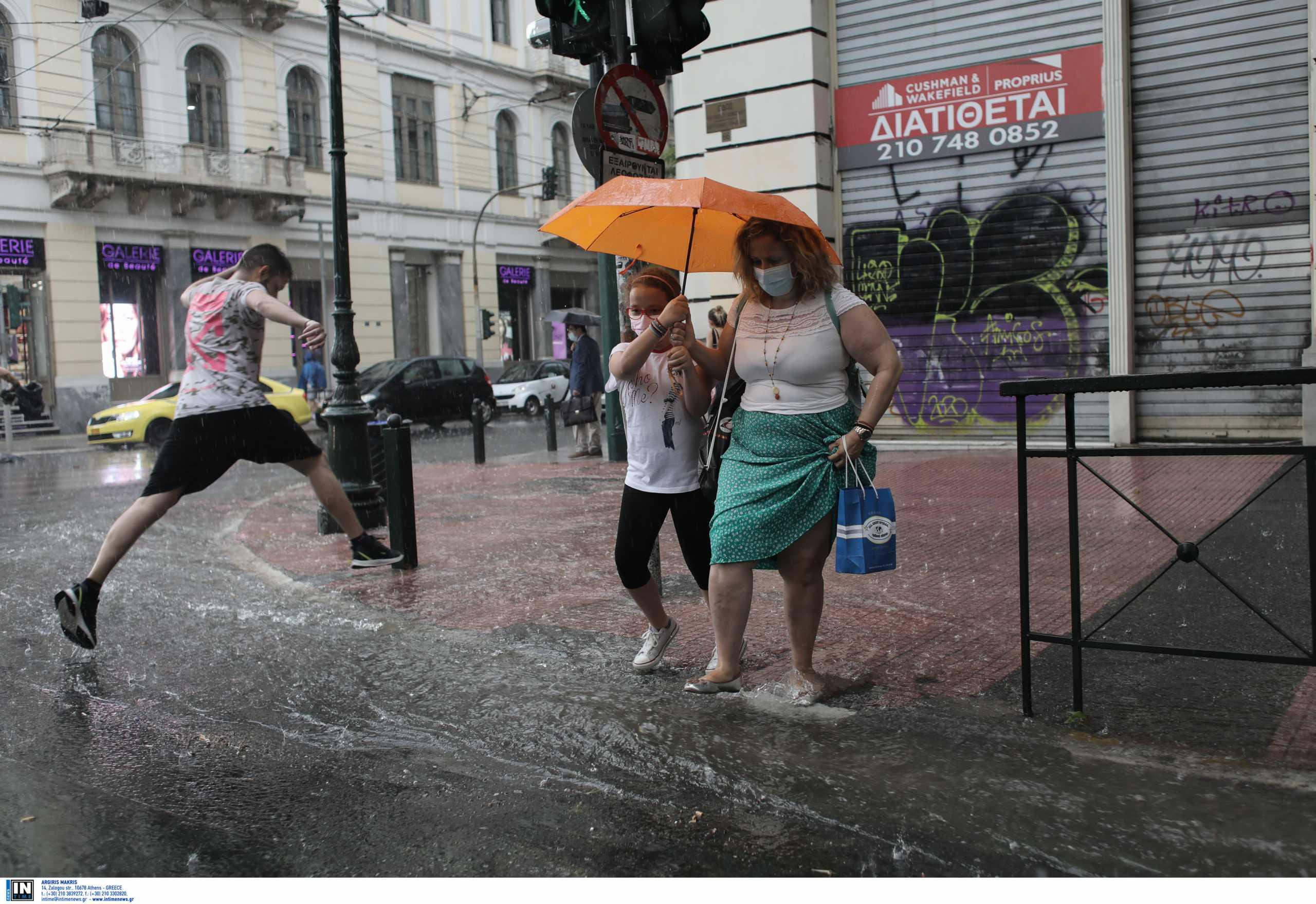 Καιρός – meteo: Χαμηλές θερμοκρασίες και καταιγίδες τις επόμενες μέρες