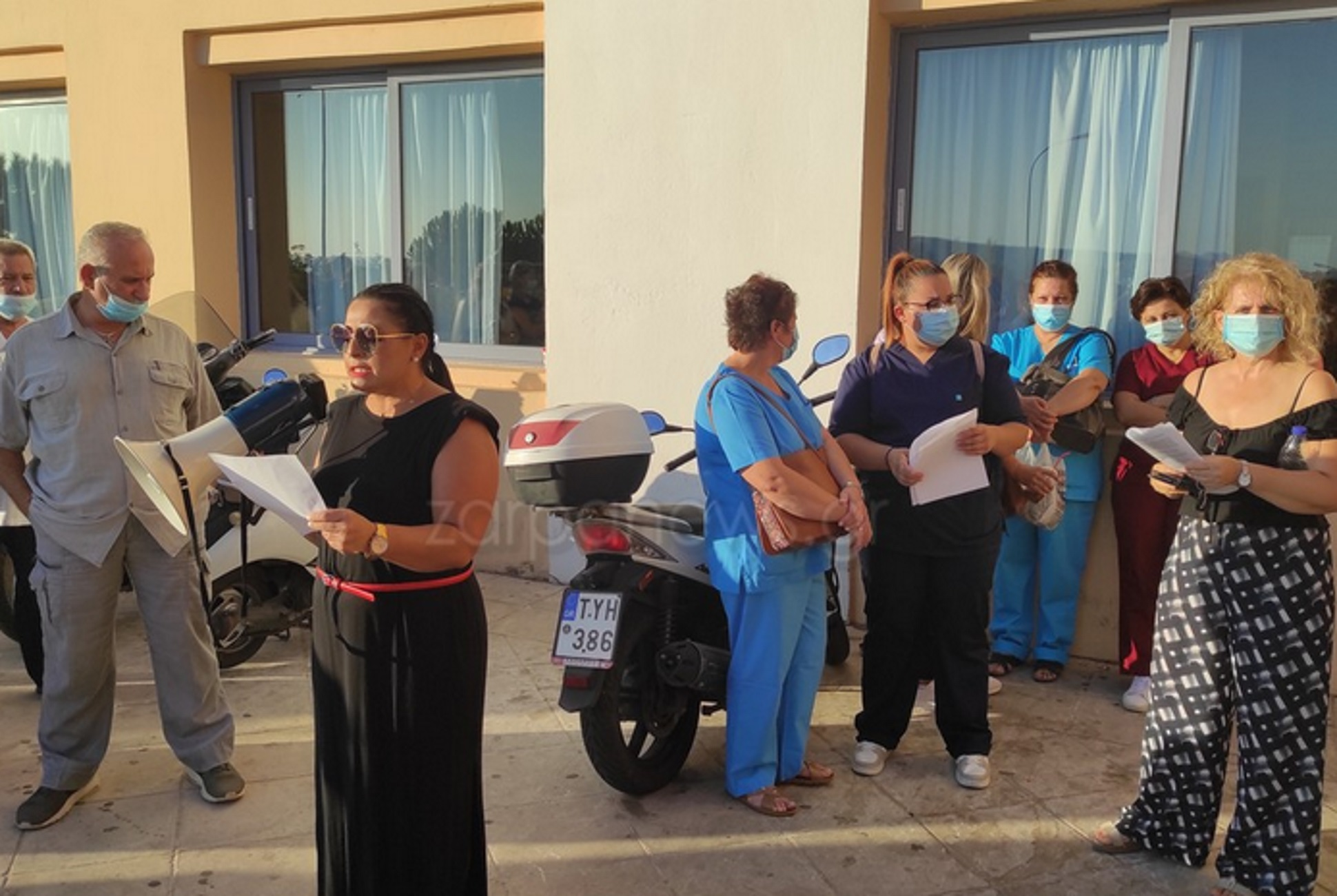 Χανιά: Εκτός 109 υγειονομικοί από το νοσοκομείο – Οργισμένα ξεσπάσματα για τις αναστολές εργασίας