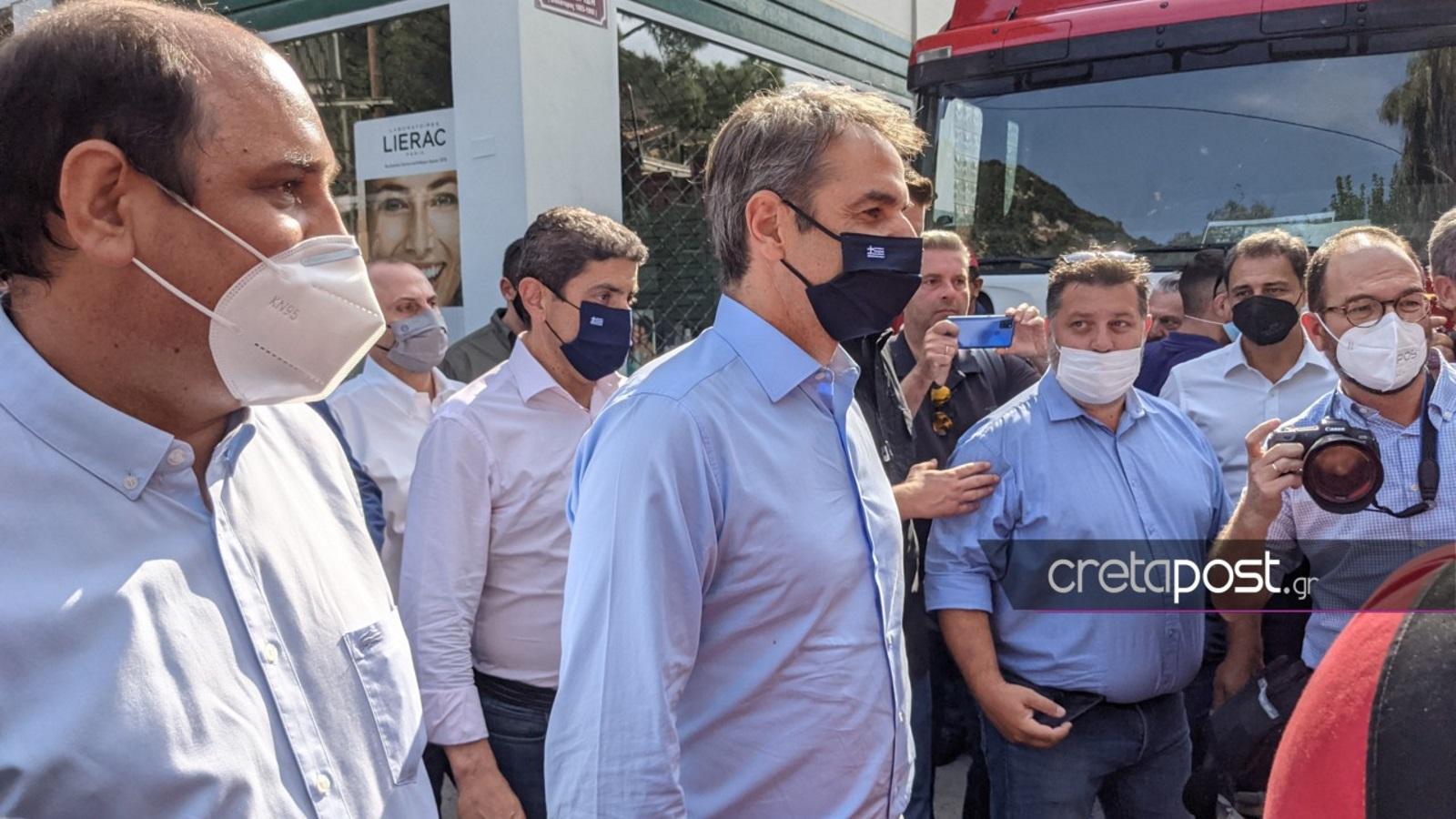 Στην Κρήτη ο Κυριάκος Μητσοτάκης – Επισκέπτεται τις σεισμόπληκτες περιοχές
