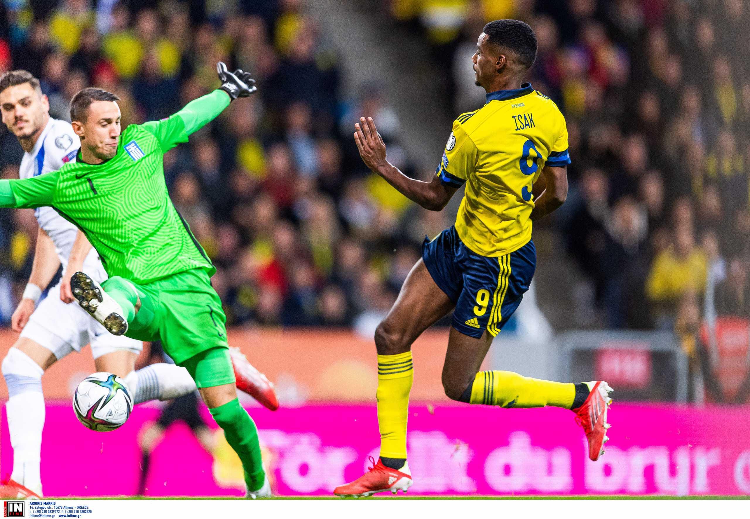 Προκριματικά Μουντιάλ 2022, Σουηδία – Ελλάδα 2-0: Τα highlights της ήττας στην Στοκχόλμη