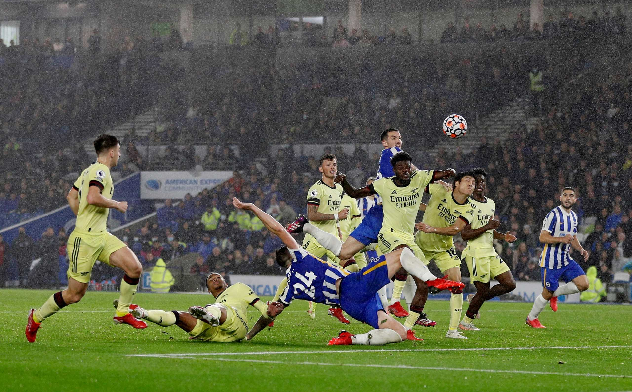 Premier League, Μπράιτον – Άρσεναλ 0-0: Stop στο σερί των Λονδρέζων