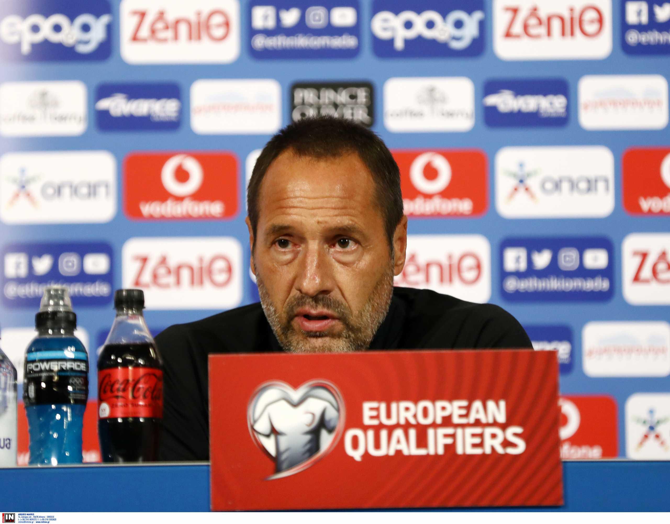 Προκριματικά Μουντιάλ 2022, Ελλάδα – Φαν'τ Σιπ: «Τελικός με Σουηδία, δεν μπαίνουμε με νοοτροπία αουτσάιντερ»