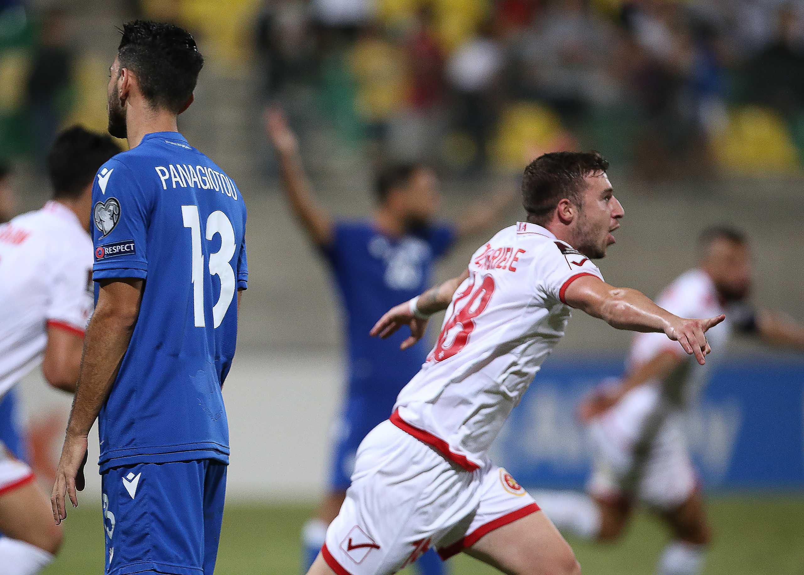 Προκριματικά Μουντιάλ 2022, Κύπρος – Μάλτα 2-2: Η νίκη χάθηκε στο 90+8′