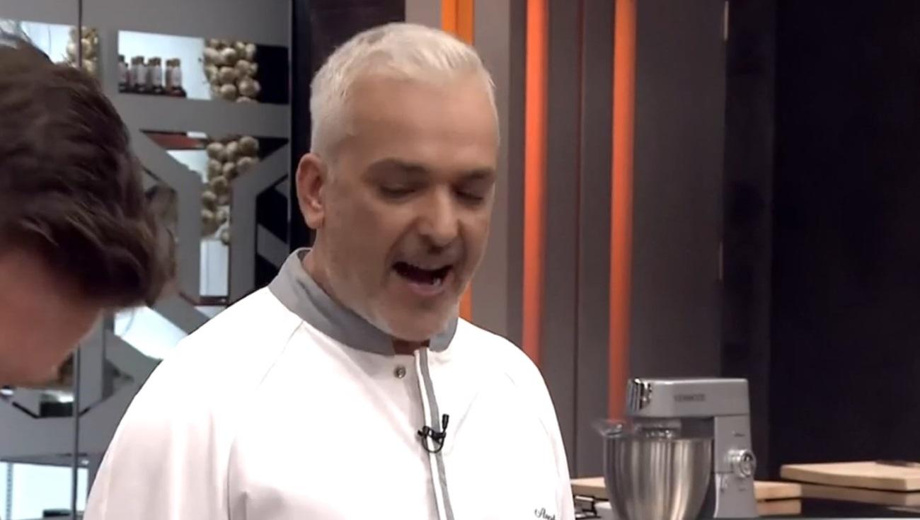 Στο Game of Chefs ο Άγγελος Λάντος έγινε πυρ και μανία με παίκτη