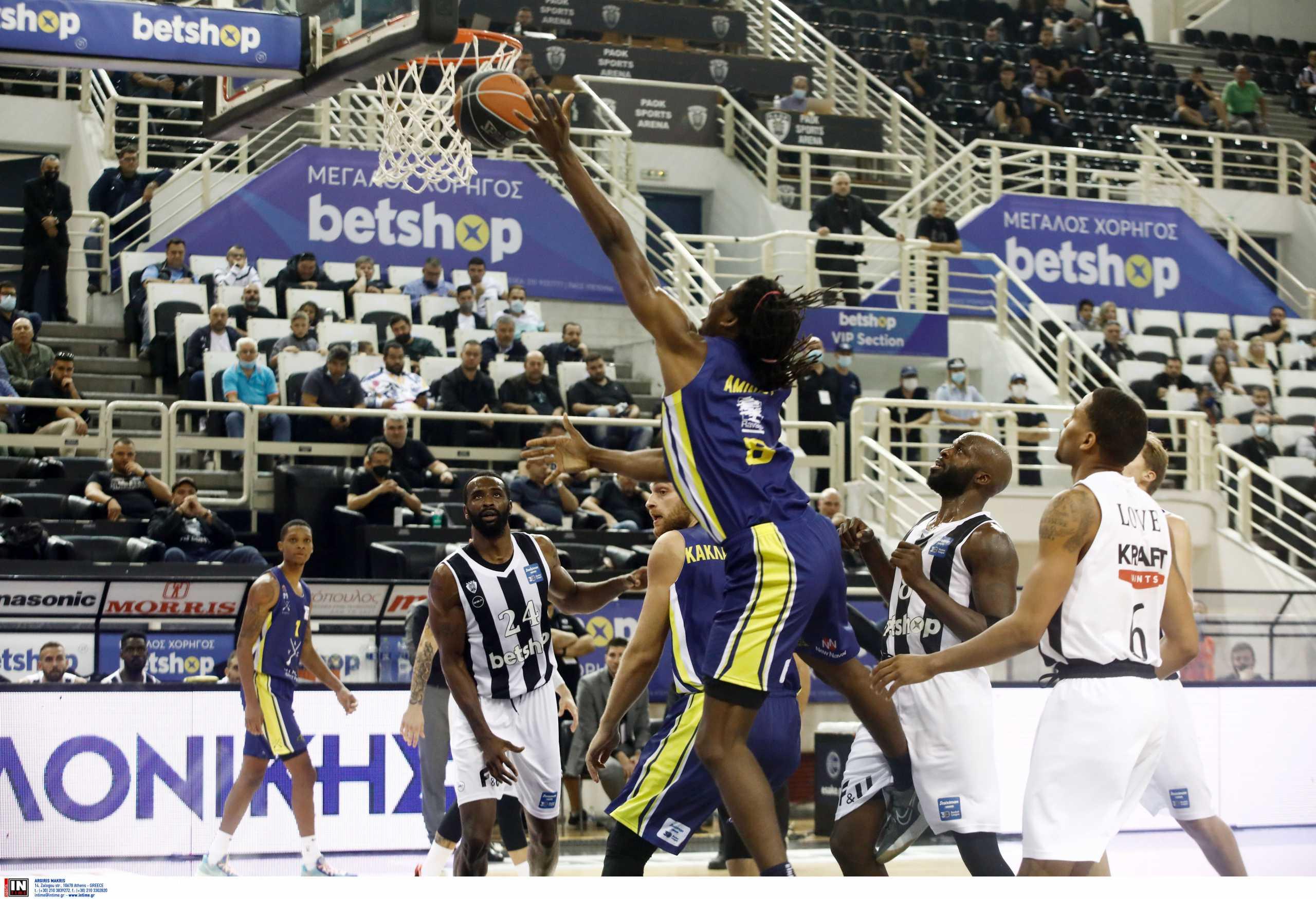Basket League, ΠΑΟΚ – Λαύριο 73-89: «Εκκωφαντικό» διπλό στην πρεμιέρα του πρωταθλήματος
