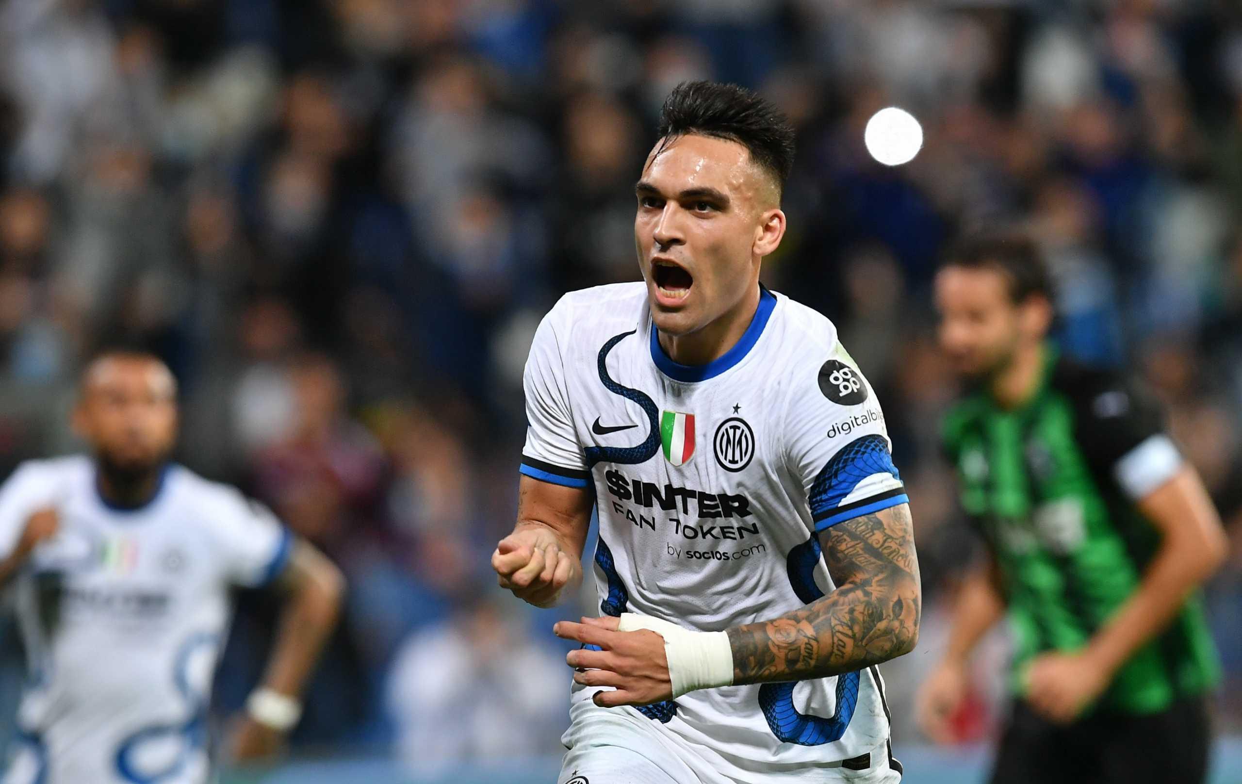 Serie A, Σασουόλο – Ίντερ 1-2: «Ψυχωμένη» ανατροπή και διπλό για τους «νερατζούρι»