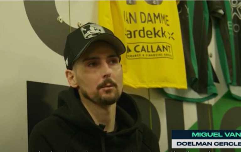 Σερκλ Μπριζ: Ο τερματοφύλακας, Μιγκέλ Βαν Νταμ, διαγνώστηκε για πέμπτη φορά με λευχαιμία