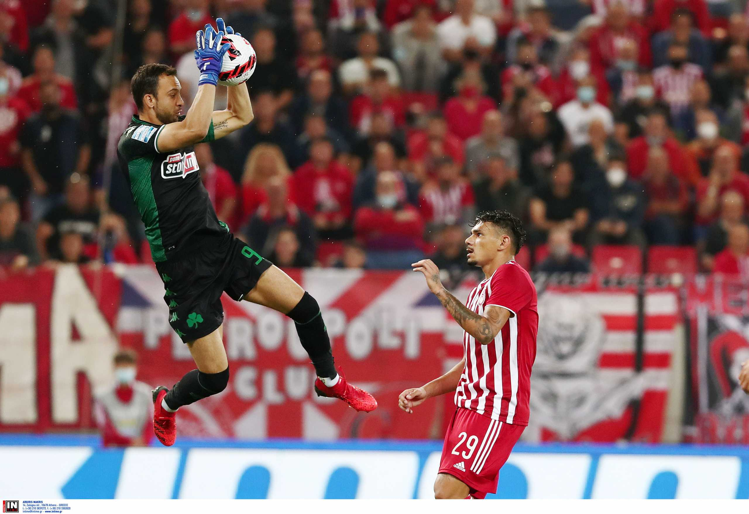 Superleague 1, Ολυμπιακός – Παναθηναϊκός 0-0: Μπρινιόλι και άμυνα σταμάτησαν τους Πειραιώτες