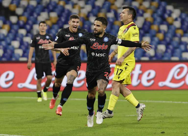 Serie A, Νάπολι - Μπολόνια 3-0: Ανετη νίκη οι «παρτενοπέι» και «αγκαλιά» με τη Μίλαν στην κορυφή
