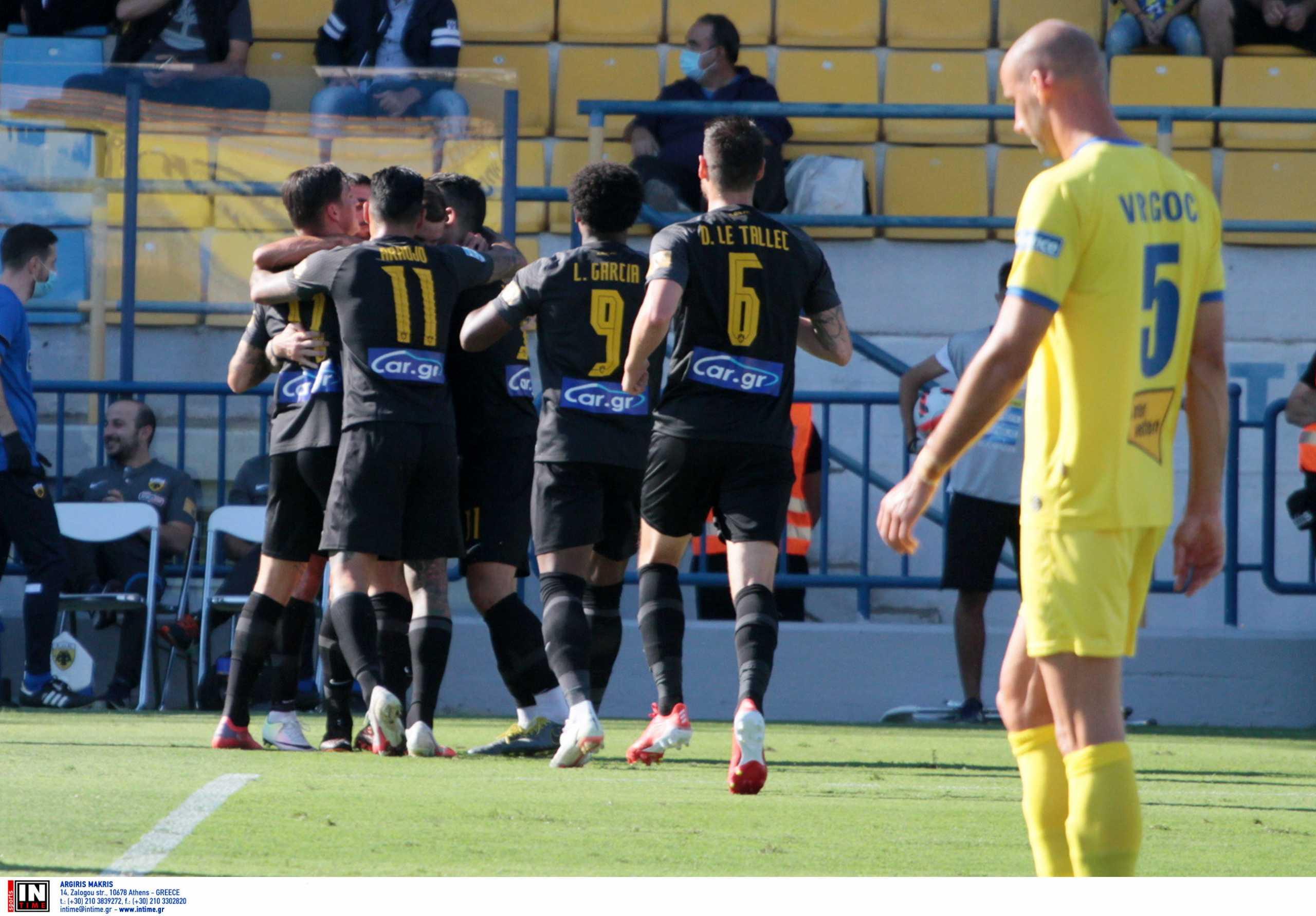 Superleague 1, Παναιτωλικός – ΑΕΚ 1-3: «Διπρόσωπη» και πάλι αλλά νικήτρια στο Αγρίνιο