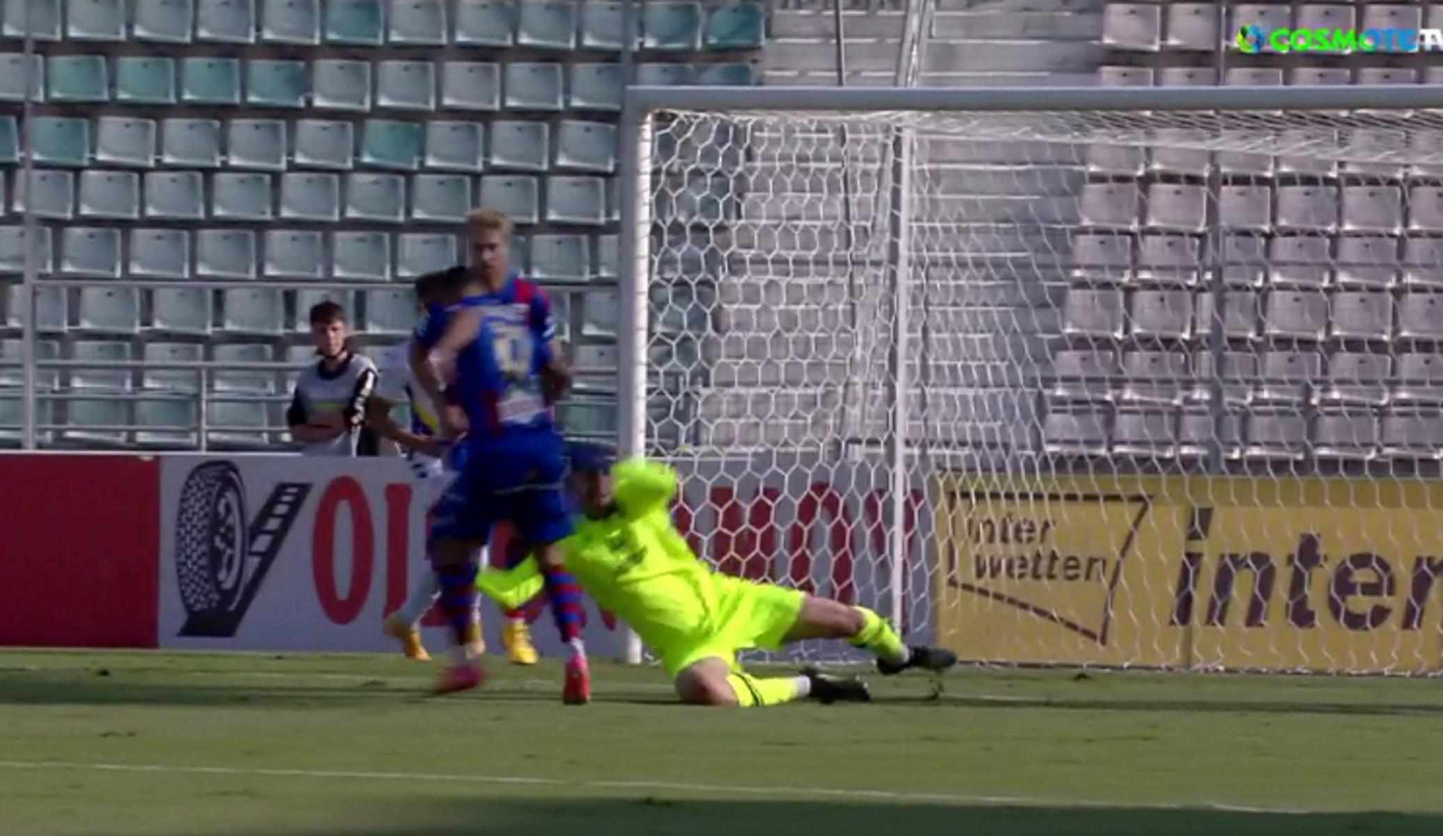 Superleague 1, Βόλος – Αστέρας Τρίπολης: Νέα «γκάφα» από Παπαδόπουλο και γκολ