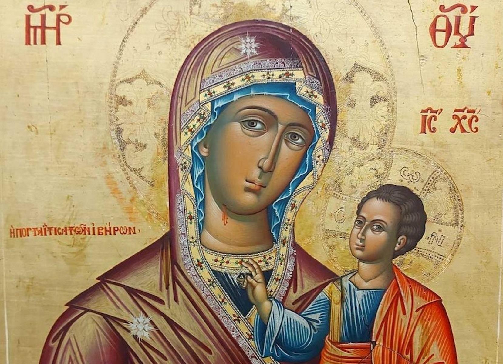 Επαναπατρίζονται σπάνιες κλεμμένες εικόνες του Χριστού Παντοκράτορα και της Παναγίας Πορταΐτισσας