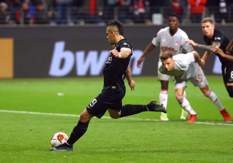 Europa League, Αιντραχτ Φρανκφούρτης - Ολυμπιακός: Τα δύο πέναλτι στο ματς