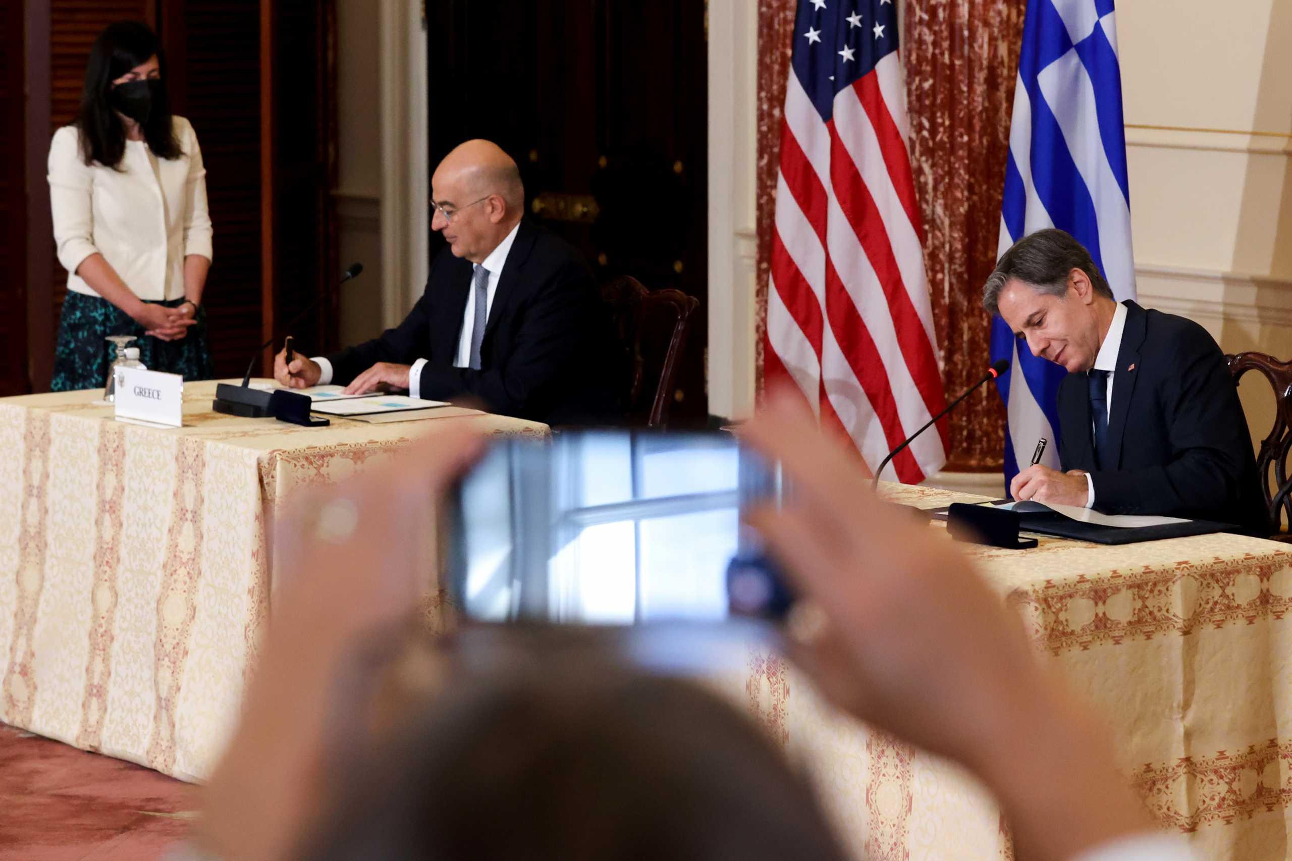 «Ψήφος εμπιστοσύνης στην Ελλάδα» η νέα Συμφωνία με τις ΗΠΑ – Πως αποτιμά η Αθήνα την επιστολή Μπλίνκεν στον Πρωθυπουργό