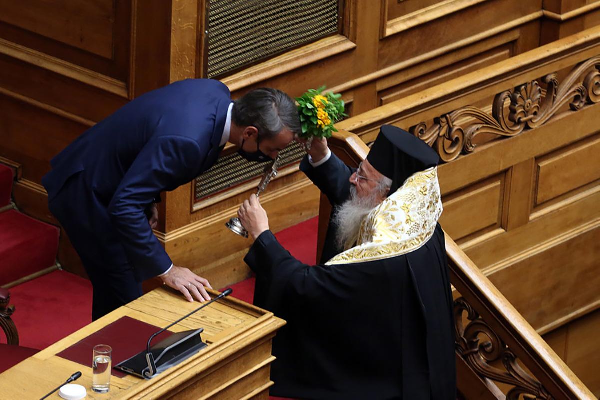 Αγιασμός στην Βουλή: Ποιοι πολιτικοί αρχηγοί έλειπαν