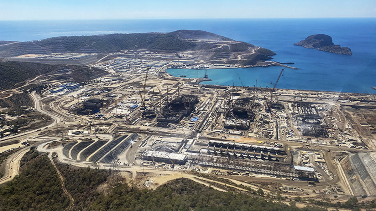 Ακούγιου: Στα άδυτα του πυρηνικού εργοστασίου της Τουρκίας – Ούτε ένας Τούρκος στον αντιδραστήρα