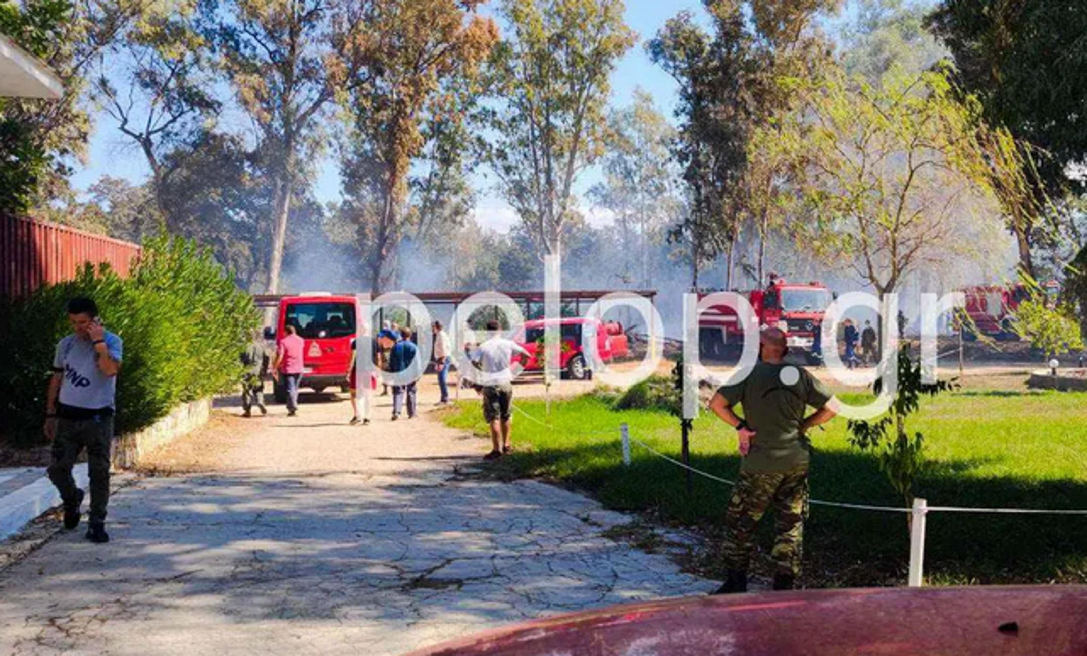 Αχαϊα: Λύνεται το μυστήριο για τη φωτιά που απείλησε το στρατιωτικό αεροδρόμιο στην Άραξο
