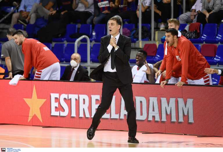 Μπαρτζώκας για το Ολυμπιακός – Μπαρτσελόνα: «Αξίζαμε τη νίκη, οι Καταλανοί σκόραραν στο τέλος μόνο με βολές»