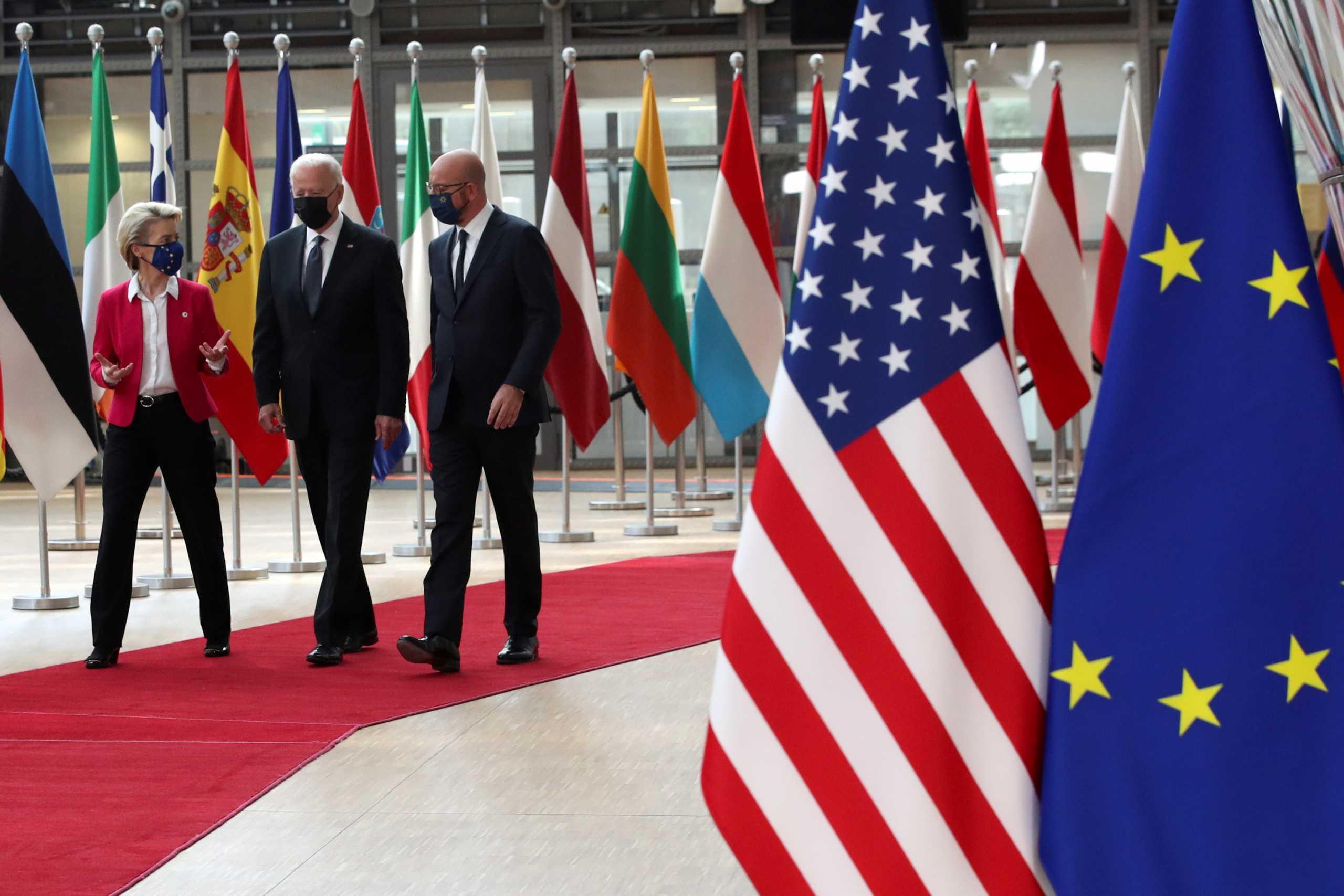 Μπάιντεν σε Φον Ντερ Λάιεν: Ζήτησε πιο «δίκαιο» διεθνές φορολογικό σύστημα