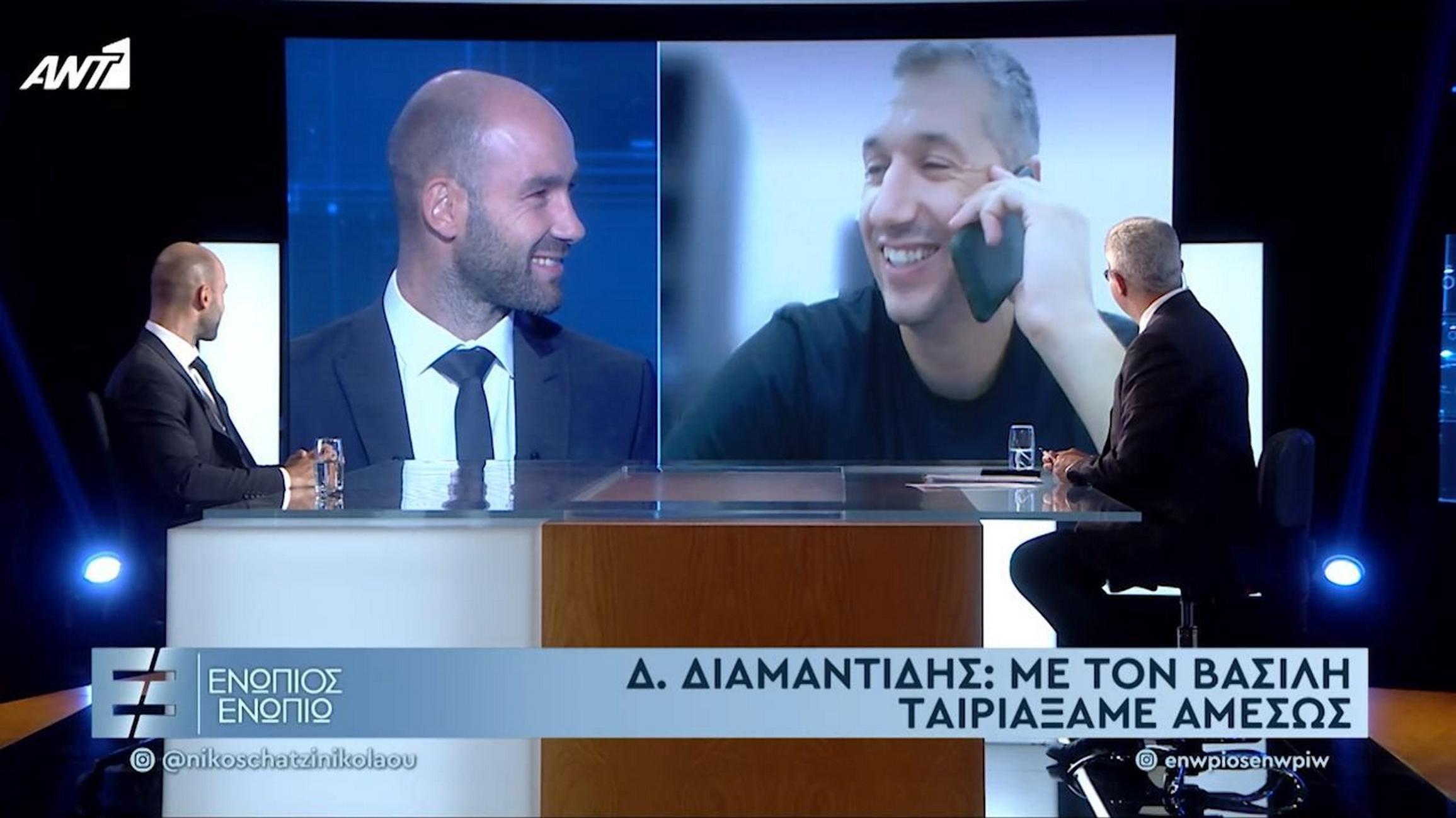 Βασίλης Σπανούλης: Μεγάλη συνέντευξη με παρέμβαση Δημήτρη Διαμαντίδη – «Δυστυχώς δεν ξεχνιέται το τρίποντο»