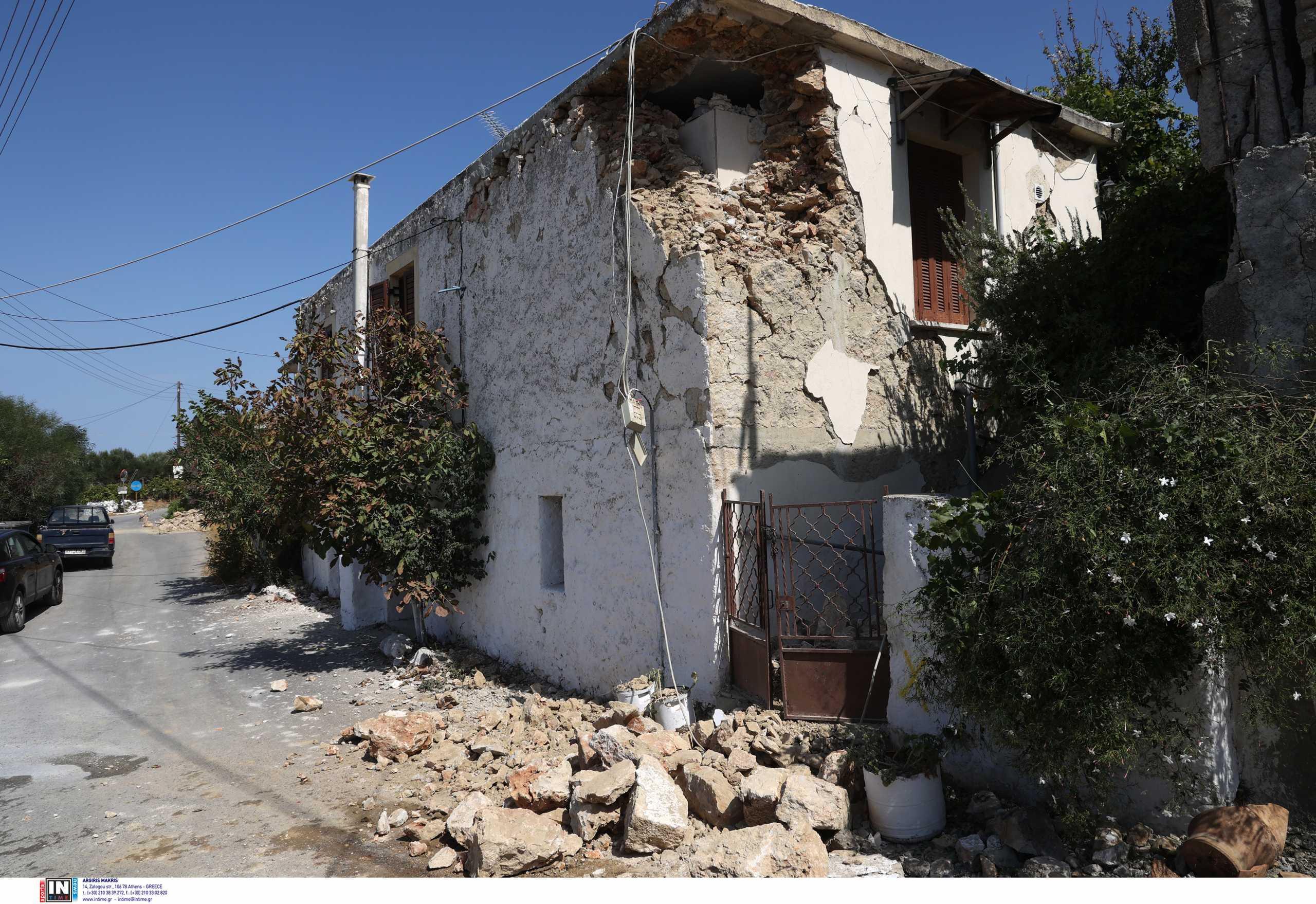 Σεισμός στην Κρήτη: «Περιμένουμε ισχυρό μετασεισμό ίσως 5,5 Ρίχτερ» λέει ο Χουλιάρας