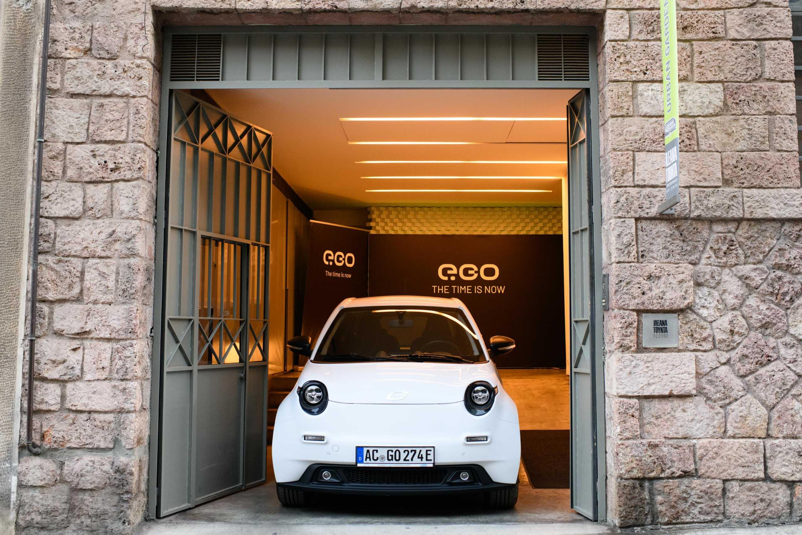 e.GO: Το πρώτο ηλεκτρικό αυτοκίνητο και τα σχέδια για παραγωγή στην Ελλάδα