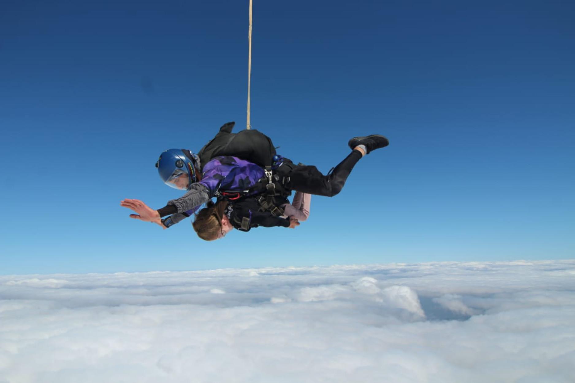 Μετά την ανάβαση στον Όλυμπο η φοιτήτρια με αναπηρία Ελευθερία Τόσιου έπεσε από τα 14.000 πόδια