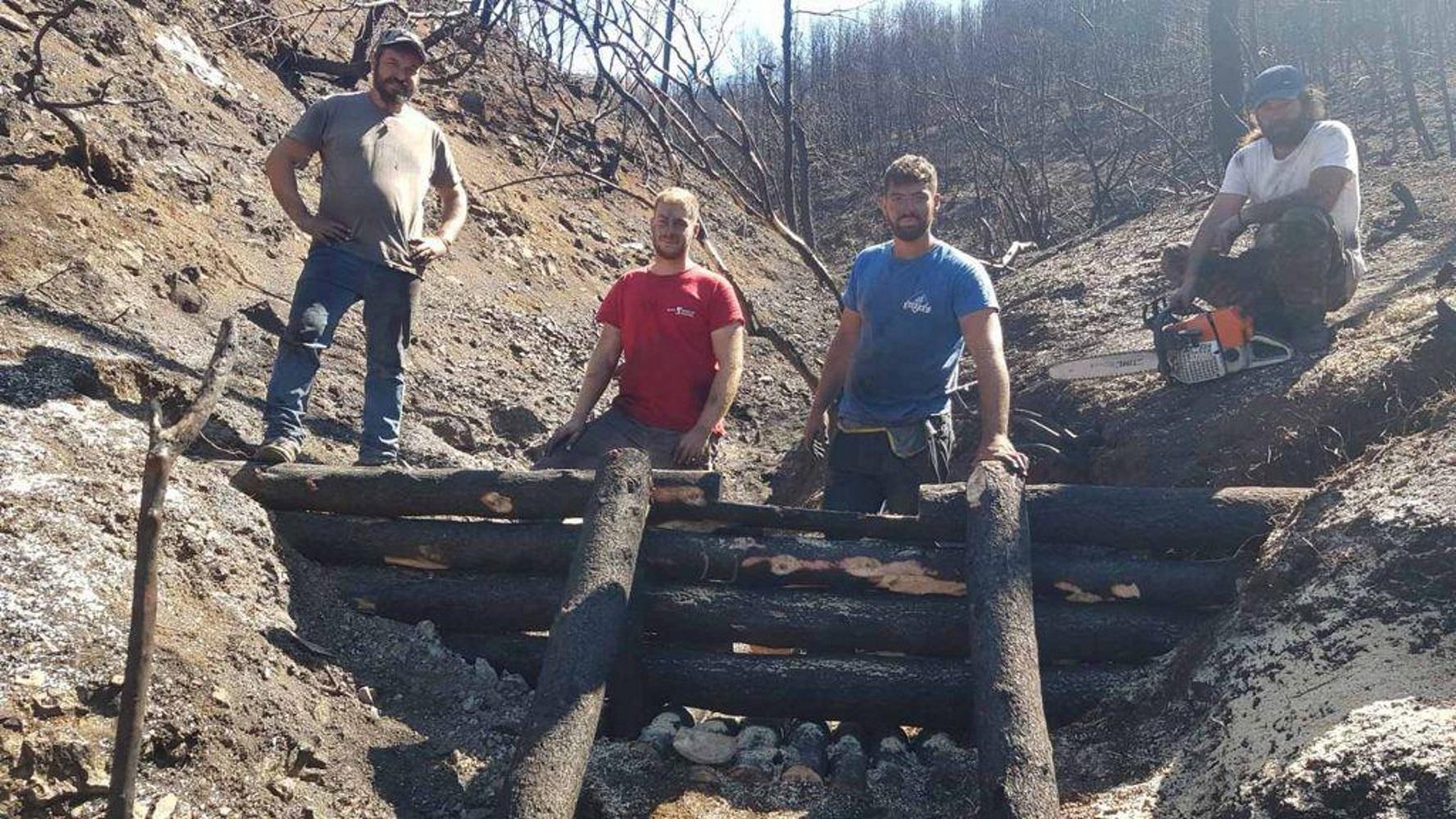 Βόρεια Εύβοια: Πάνω από 700 δασεργάτες στις πυρόπληκτες περιοχές για έργα προστασίας