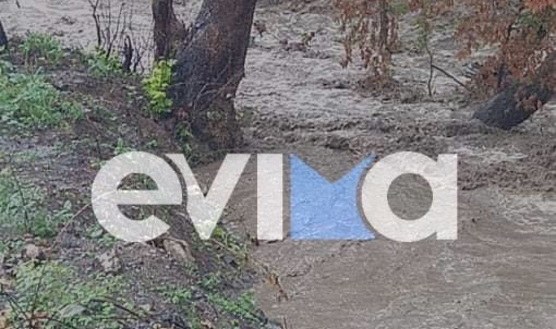 Κακοκαιρία «Αθηνά»: Χτυπάει την Εύβοια με πλημμύρες - Σε ποιες περιοχές υπάρχουν προβλήματα