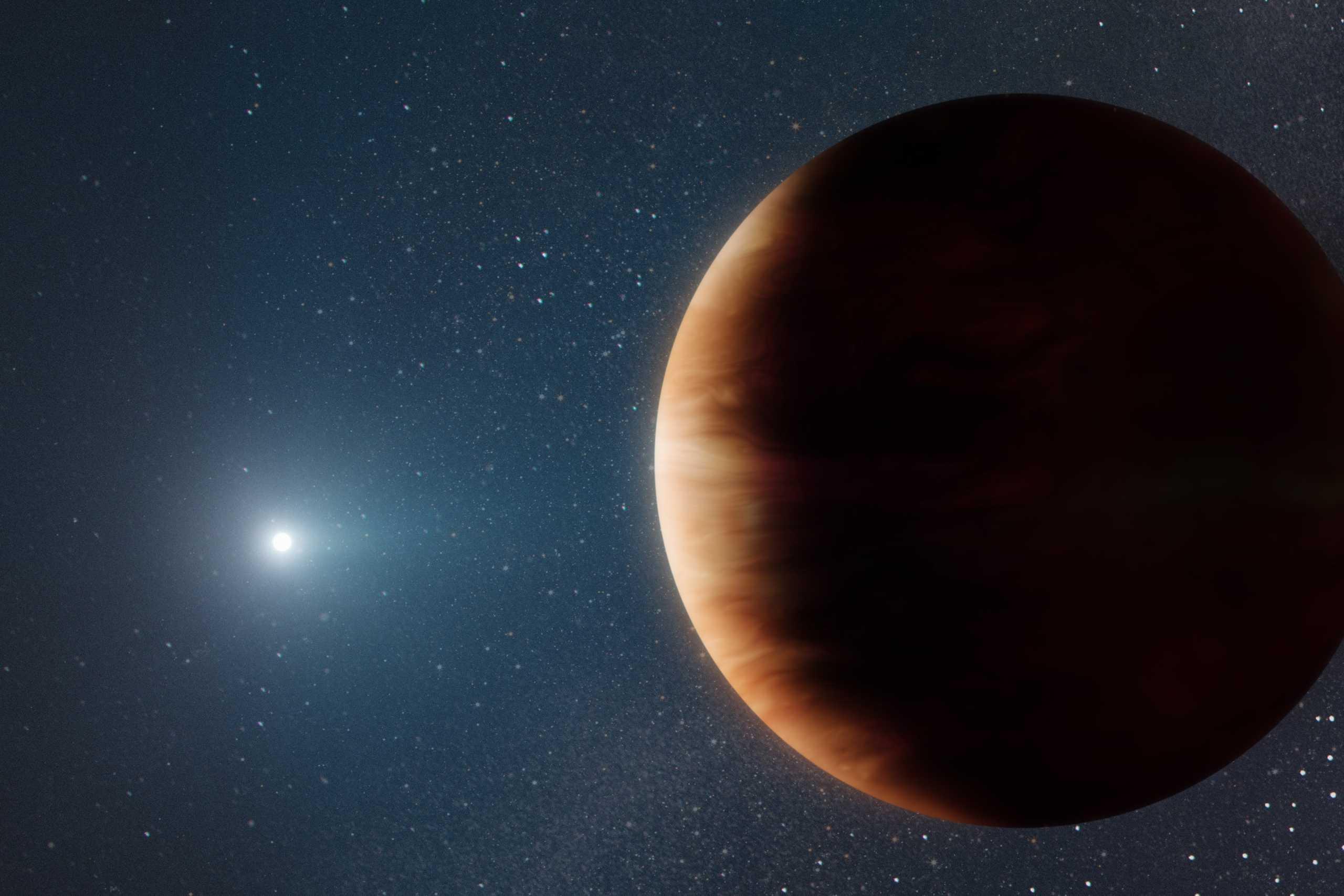 Ανακαλύφθηκε πλανήτης που ζει μετά το σβήσιμο του ήλιου του - Δυσοίωνο το μέλλον της Γης